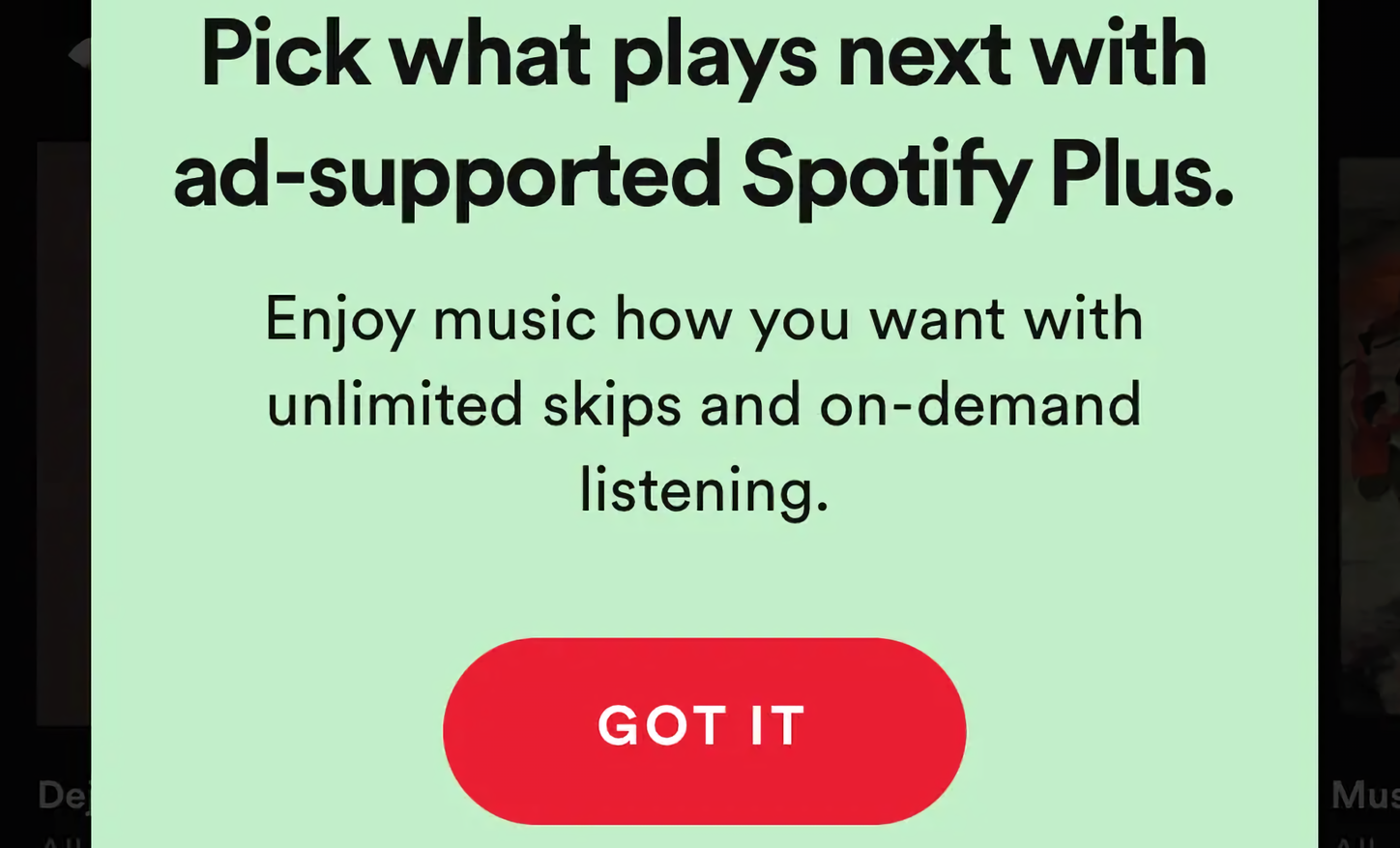 Spotify is piloting a cheaper ad-supported tier starting at $0.99 a month