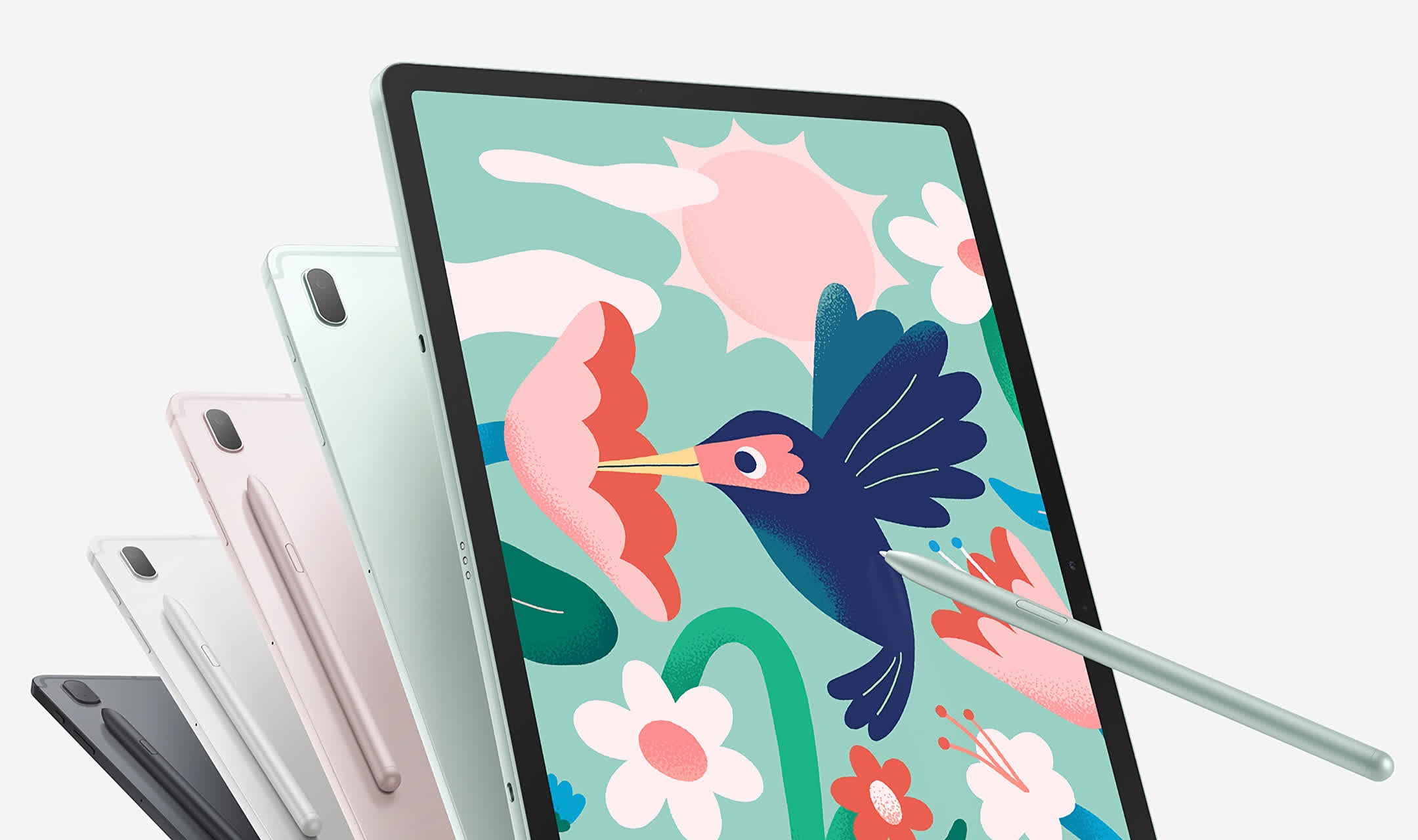Samsung releases the cut-down Galaxy Tab S7 FE in the US, starting at $529
