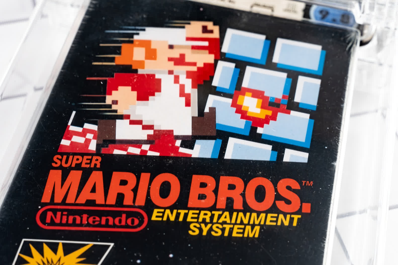 Someone just paid $2 million for a sealed copy of Super Mario Bros.