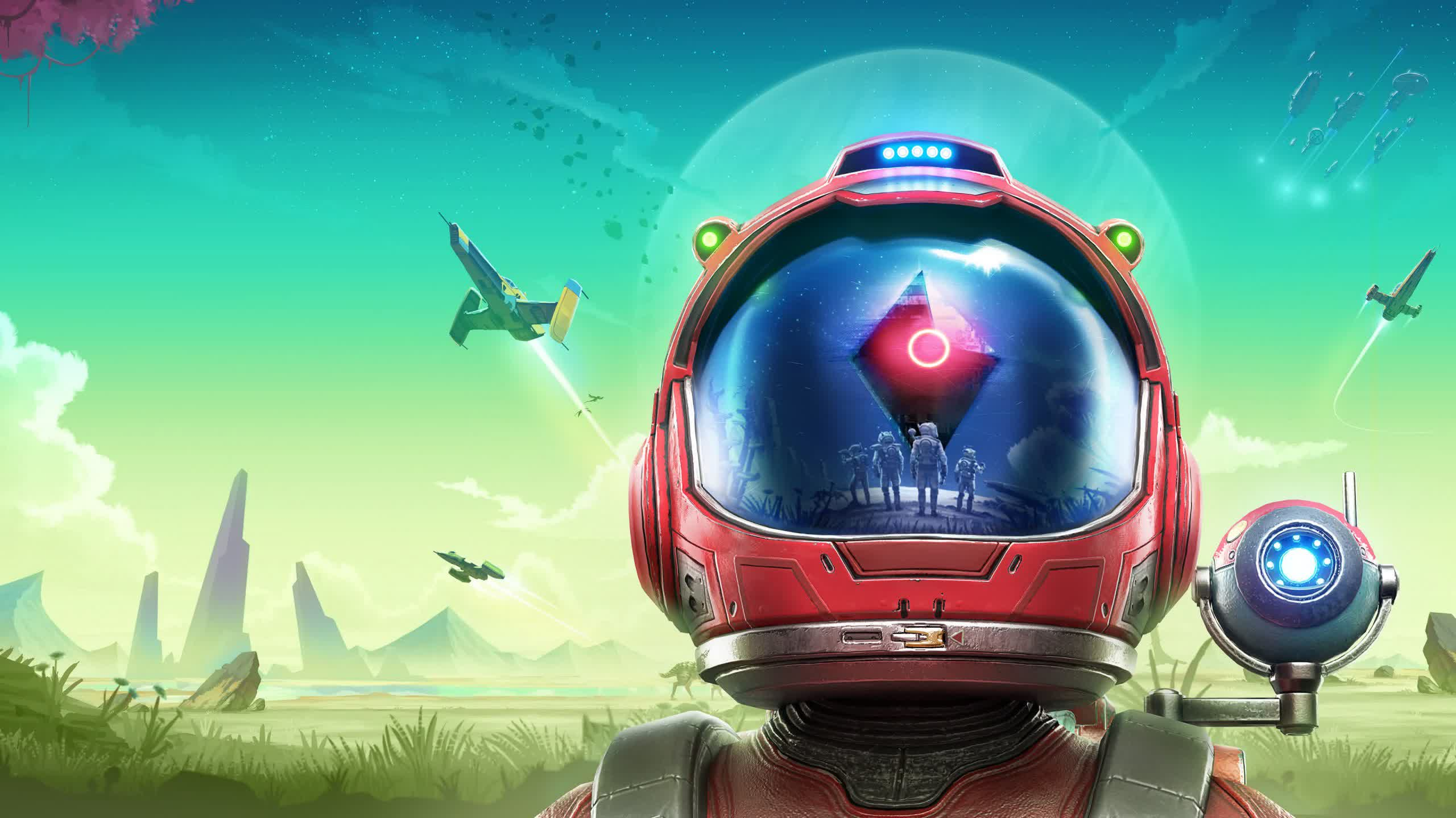 Hello Games previews 'Frontiers', No Man's Sky's fifth anniversary expansion