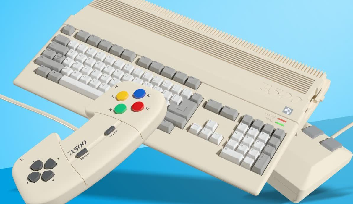 A mini version of the legendary Amiga 500 is on the way