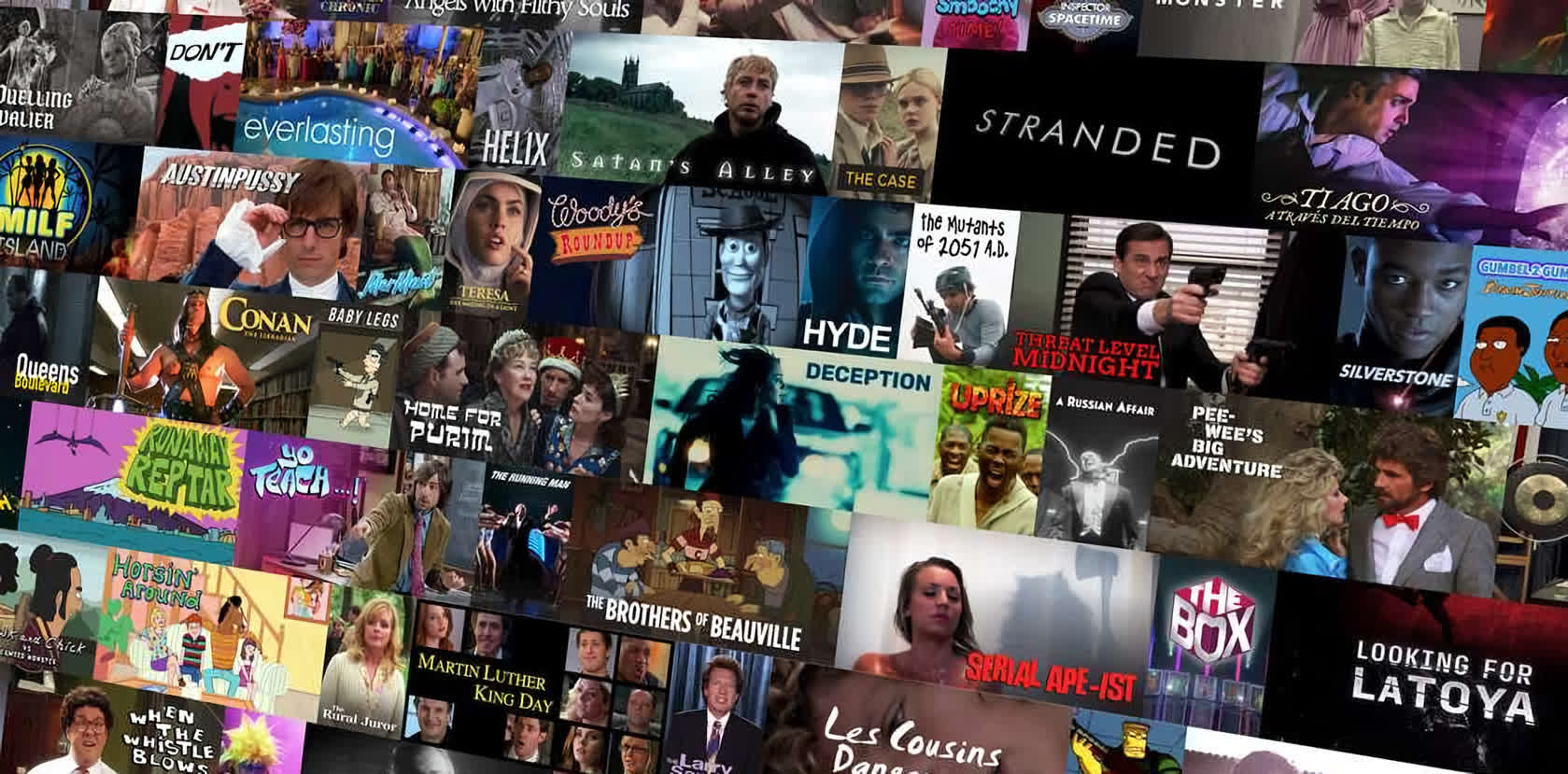 Nestflix is an alternate reality Netflix where fake movies and TV shows exist
