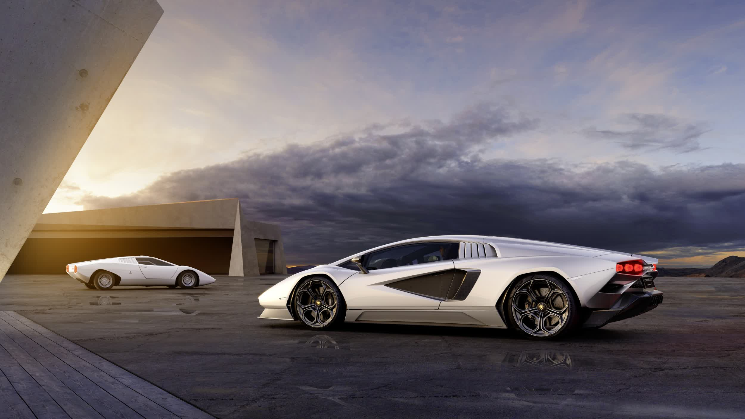 Lamborghini is bringing back the Countach as a limited-edition hybrid, and it's brilliant