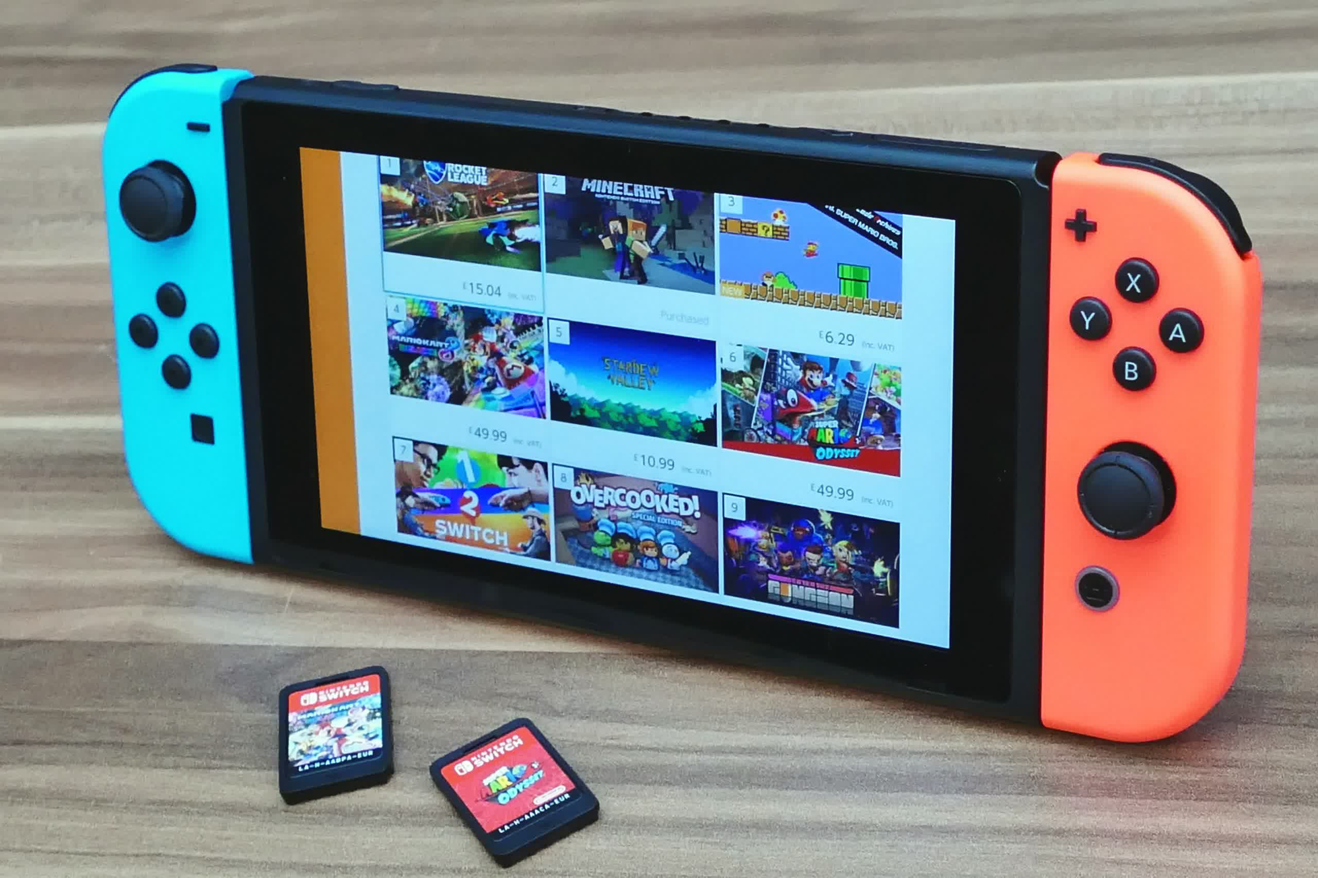Nintendo Switch held all 30 positions for best-selling games for the first week of August