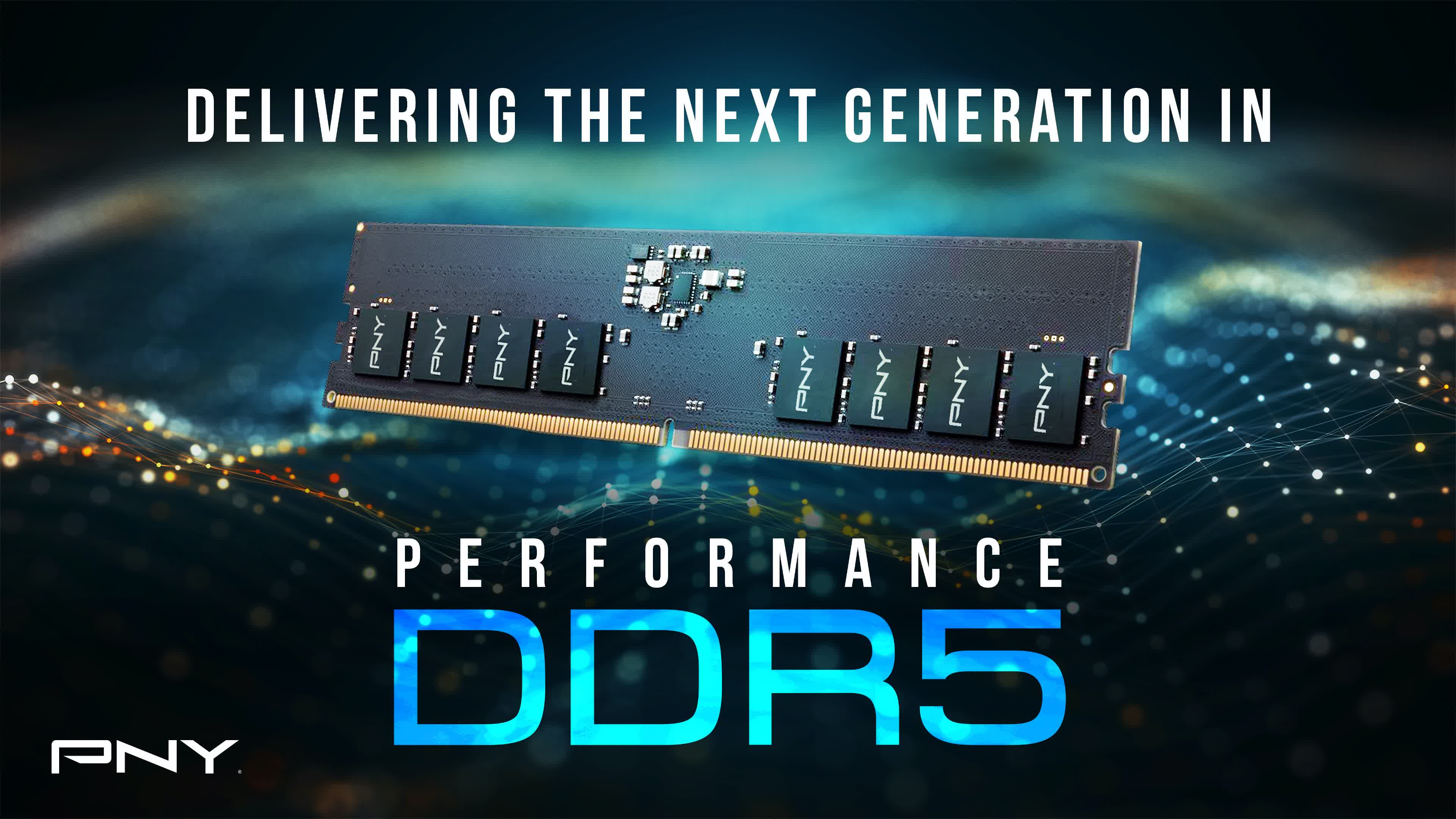 PNY says its DDR-4800 XLR8 Gaming RAM will arrive in time for Intel's Alder Lake