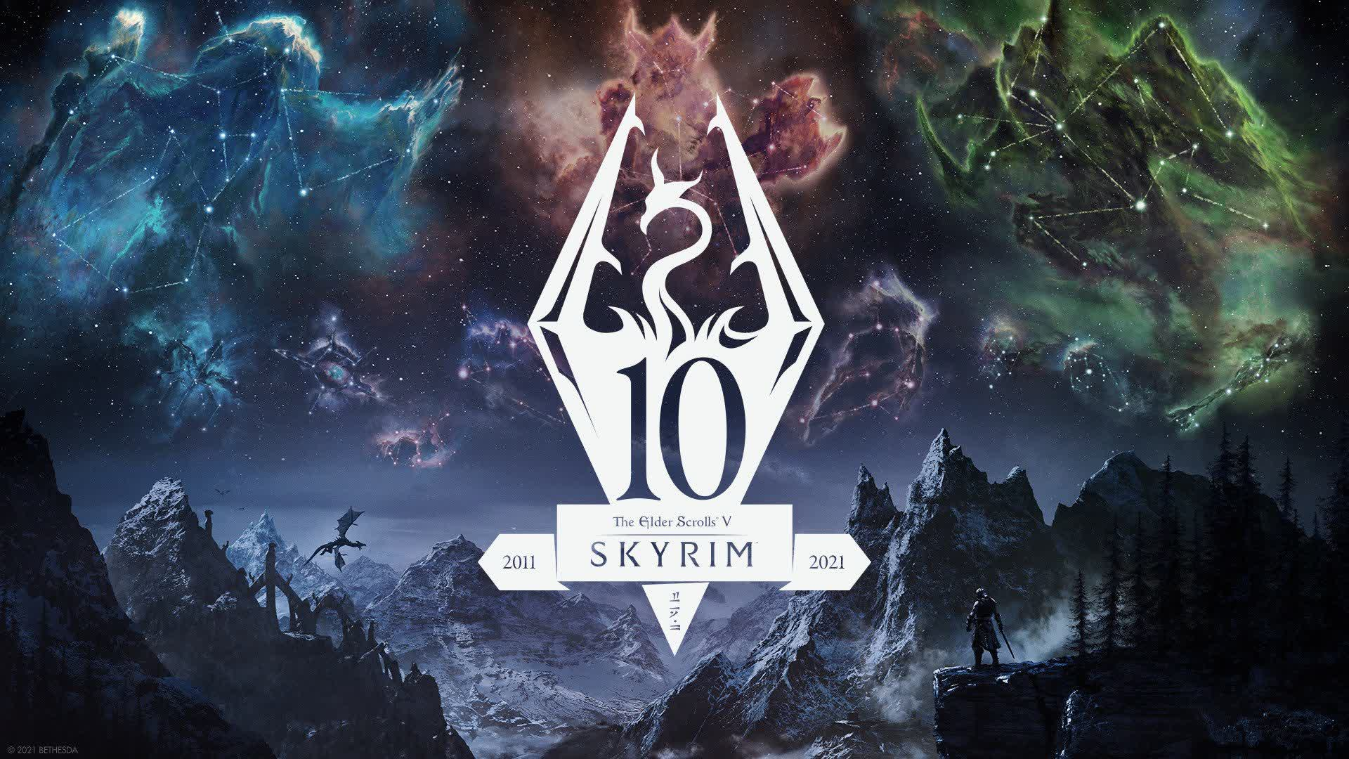 Bethesda announces a 10th anniversary edition of 'Skyrim' set to launch in November