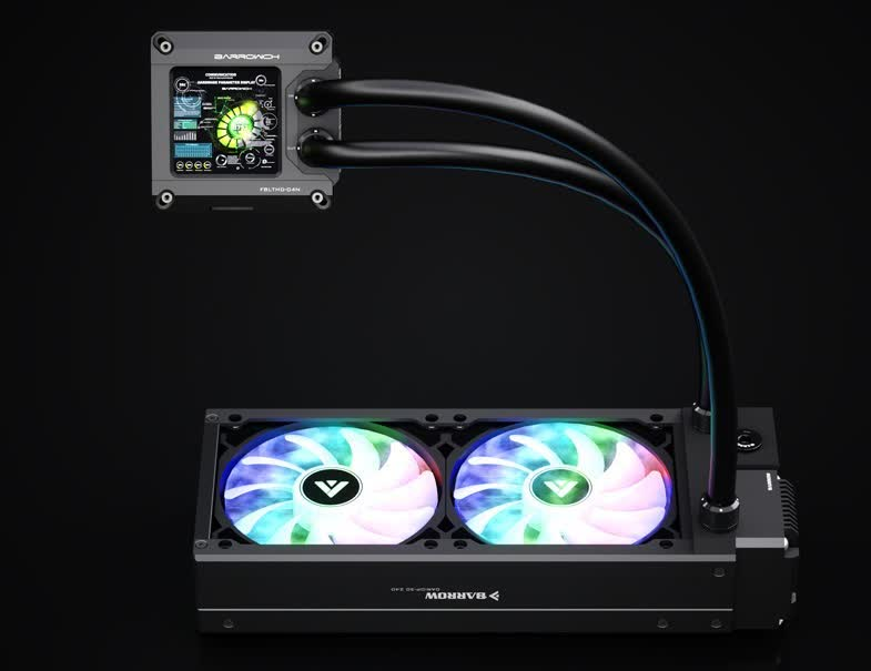 Check out this AIO liquid cooler that features a 1440p display and HDMI input