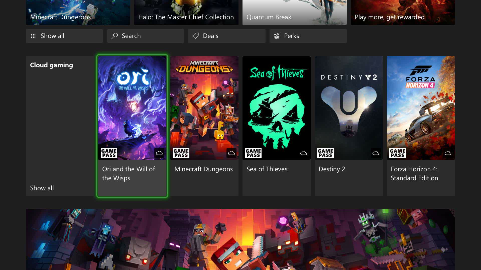 Microsoft's cloud gaming service is coming to Xbox One and Xbox Series consoles this holiday season