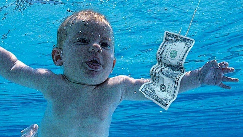 The baby from Nirvana's 1991 Nevermind album is suing the band over alleged child pornography