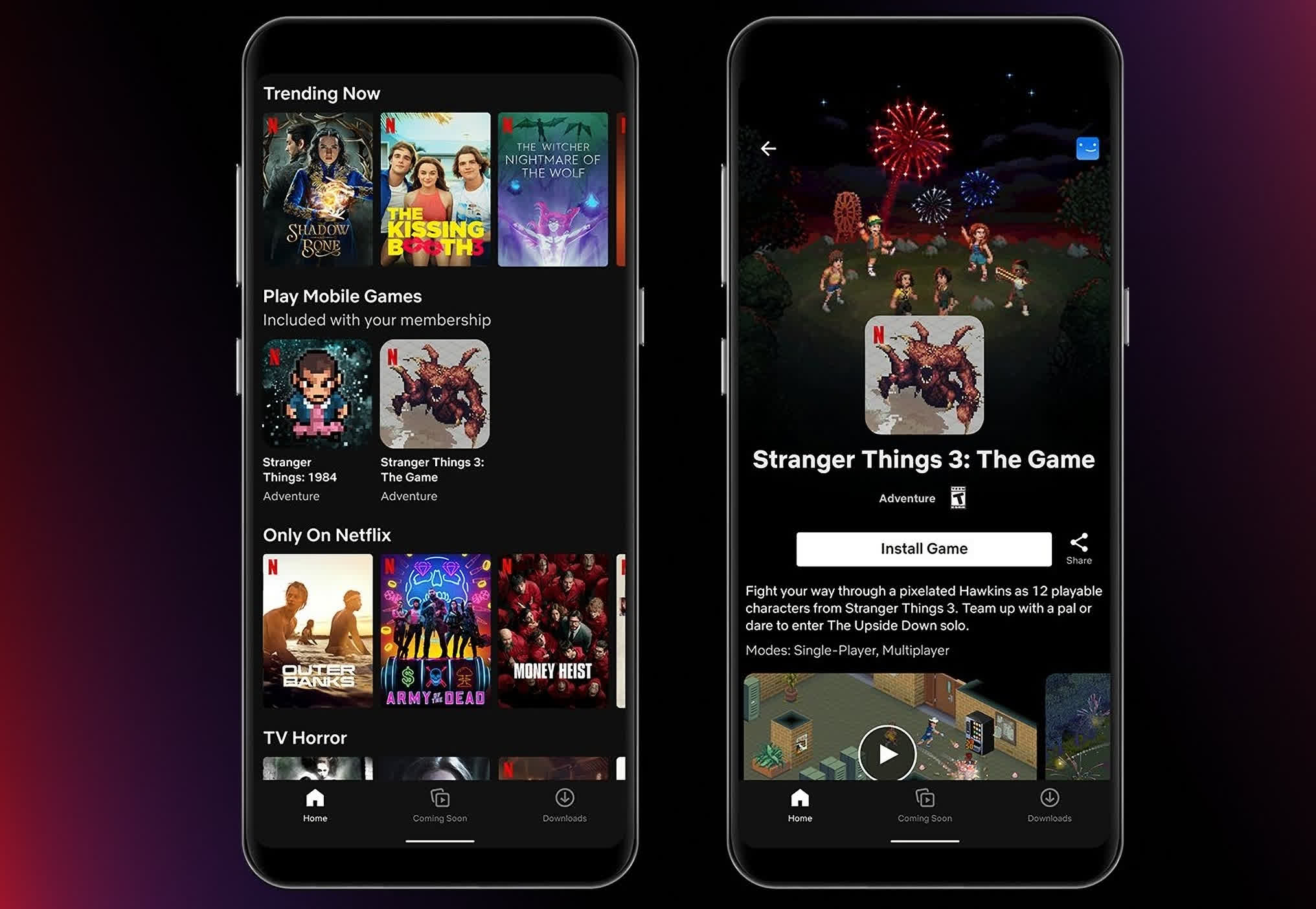 Netflix gaming kicks off in Android mobile app... if you're in Poland
