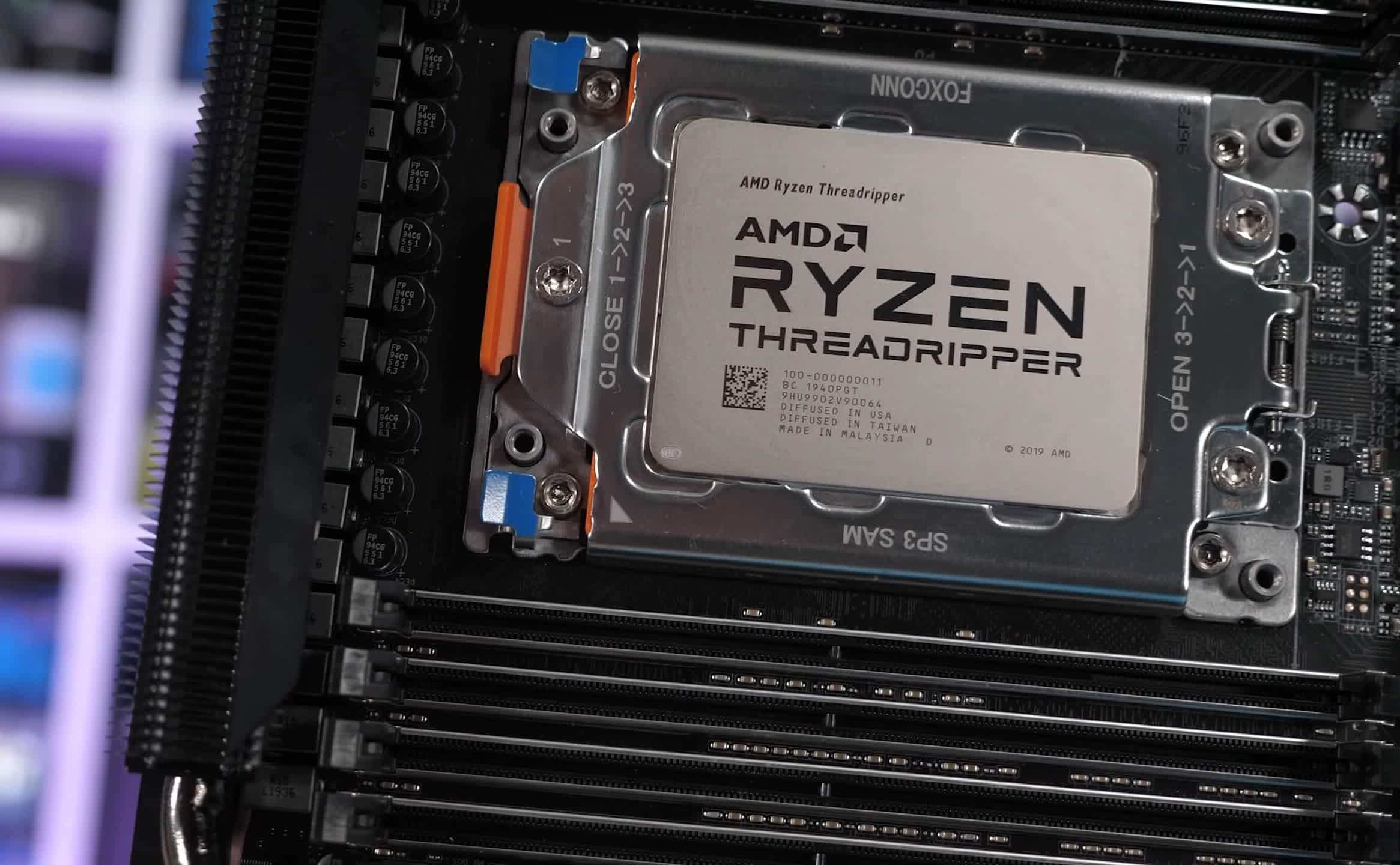 AMD Ryzen Threadripper Pro 5995WX and 5945WX appear in the wild