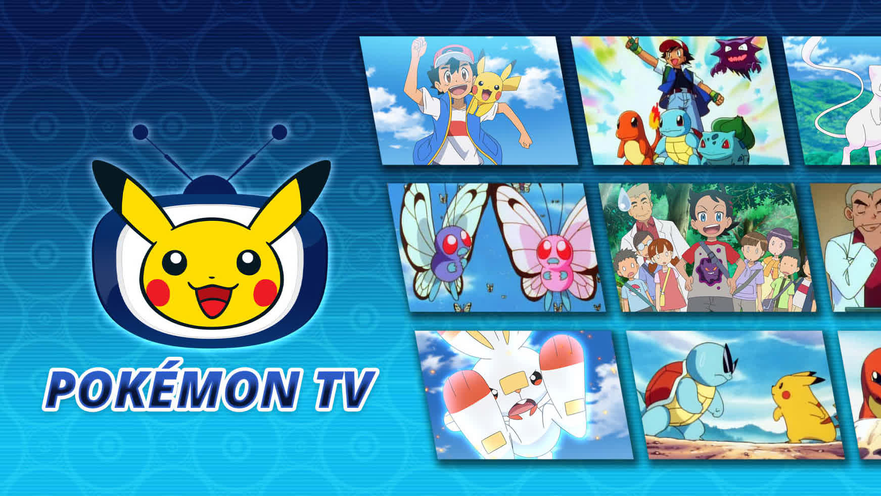 You can now watch the Pokémon TV series on your Switch