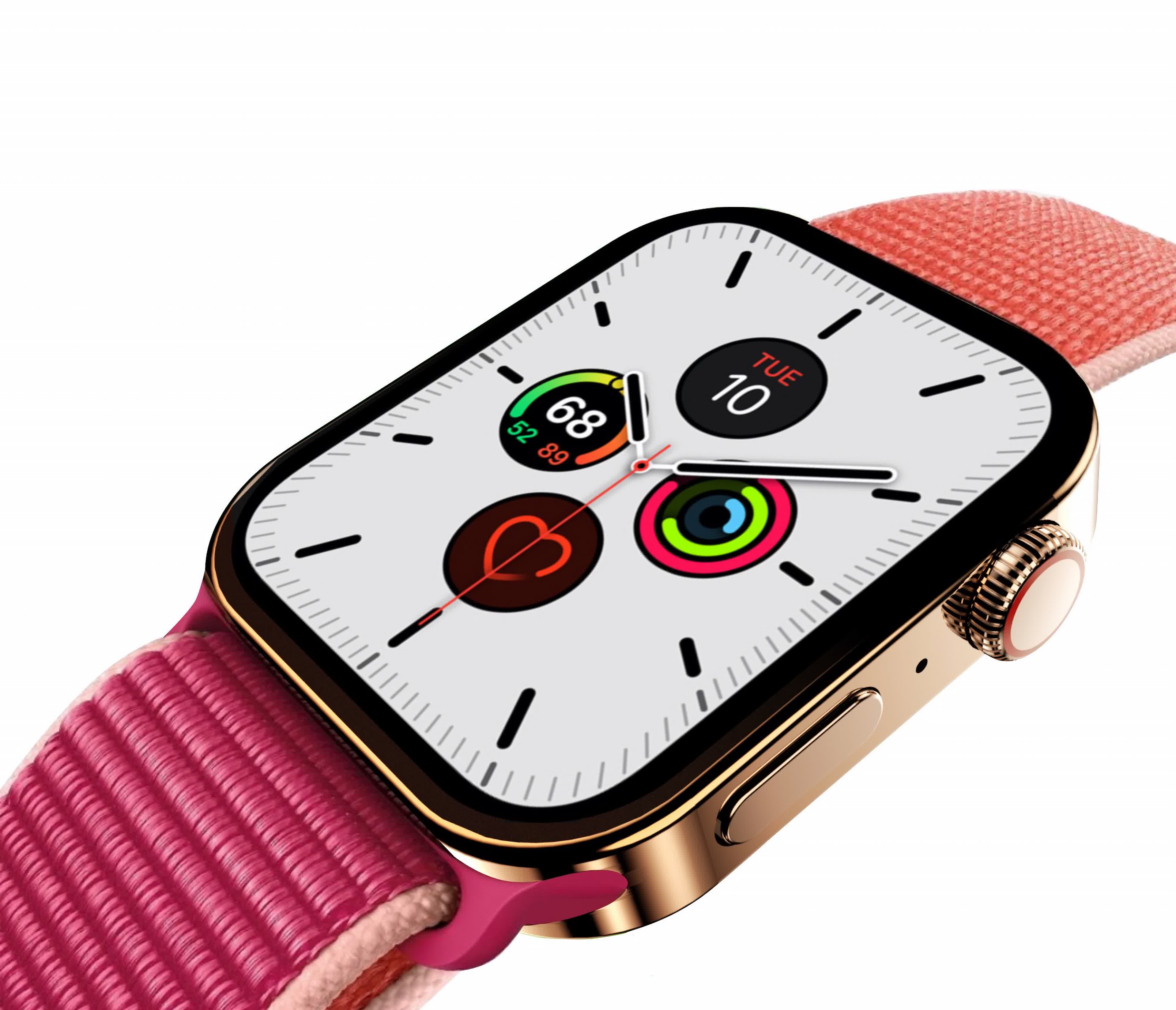 Apple Watch Series 7 rumored with a flat-edged case, larger display sizes