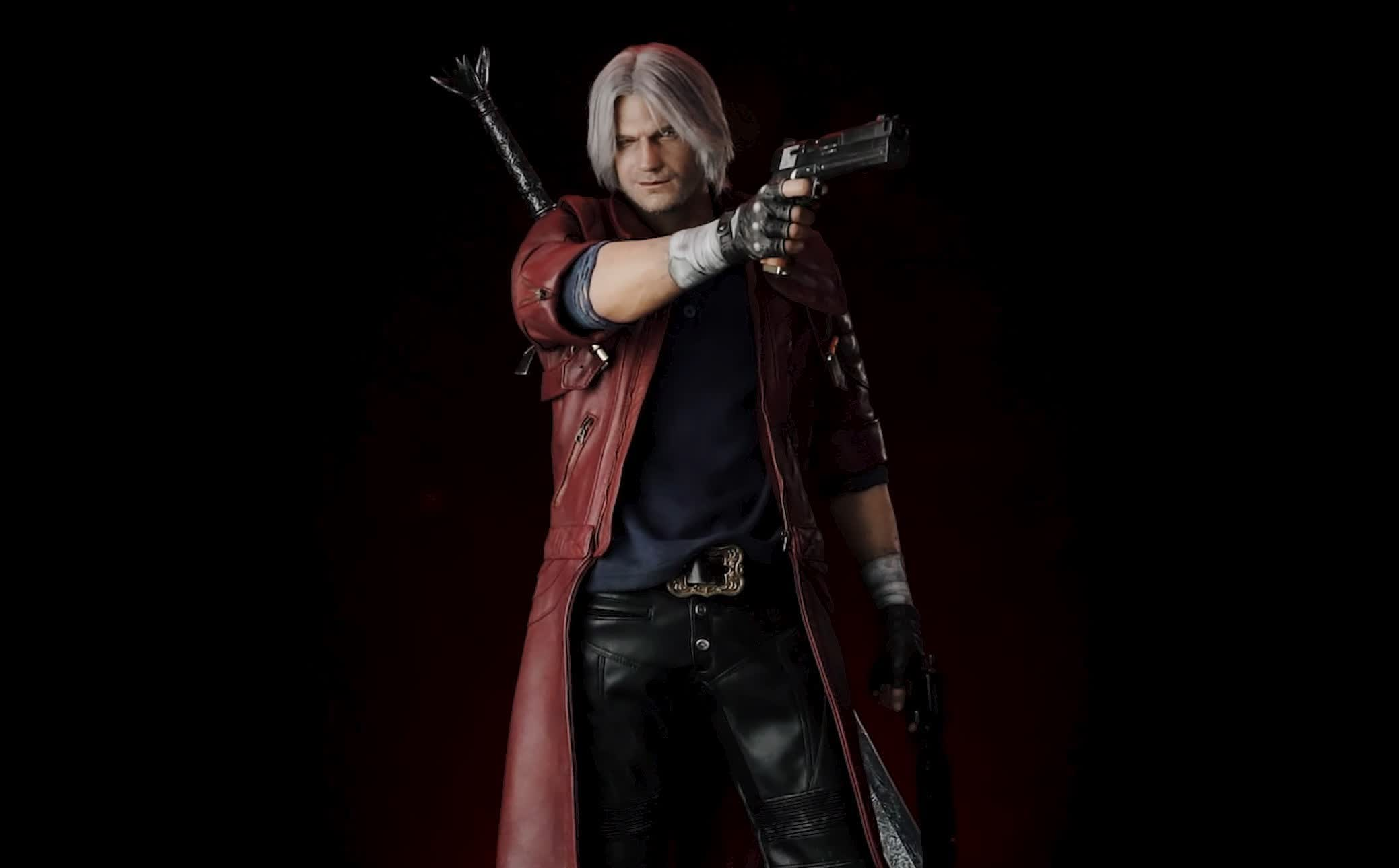Got a spare $4,300? You could buy this 43-inch statue of Devil May Cry 5's Dante