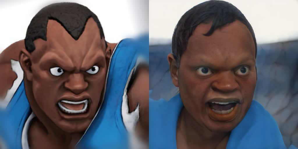 Witness the horror of Street Fighter characters turned human by Google's AI