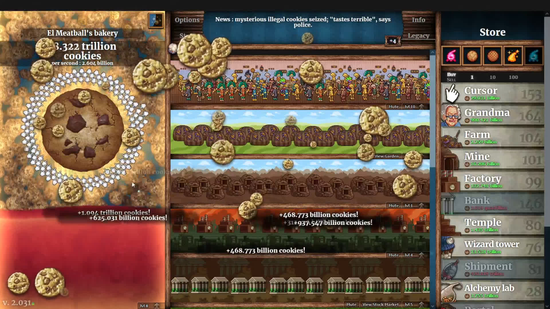 Idle gaming pioneer Cookie Clicker lands on Steam