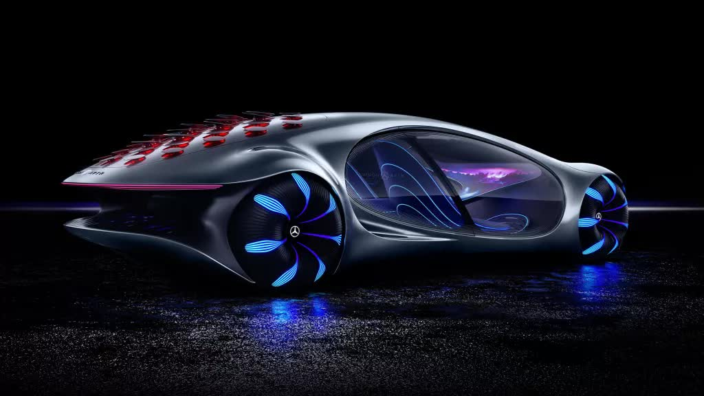 Mercedes-Benz reveals the mind-control technology in its Vision AVTR concept car