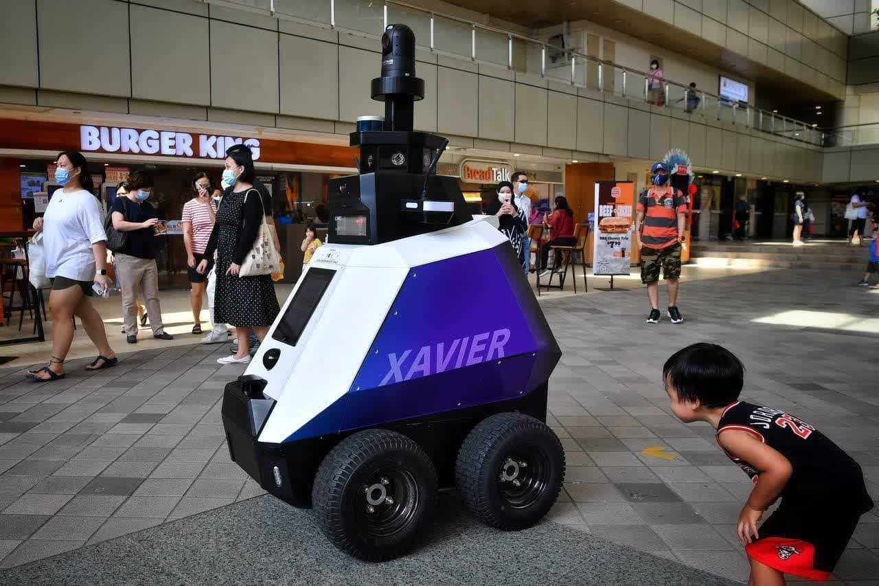 Singapore is using robots to detect bad behavior among the public