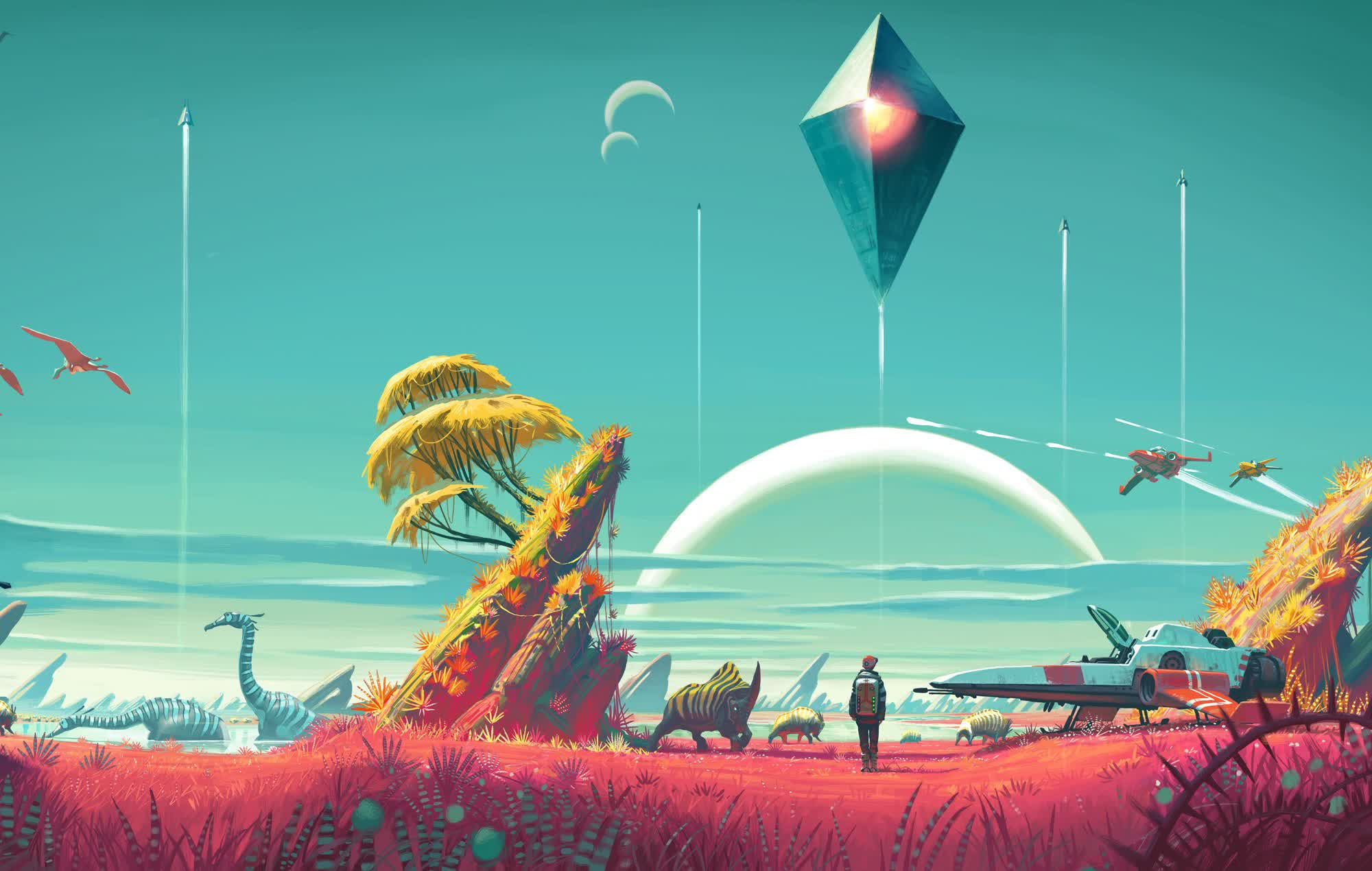 No Man's Sky finally gains a Mostly Positive Steam rating, five years after launch