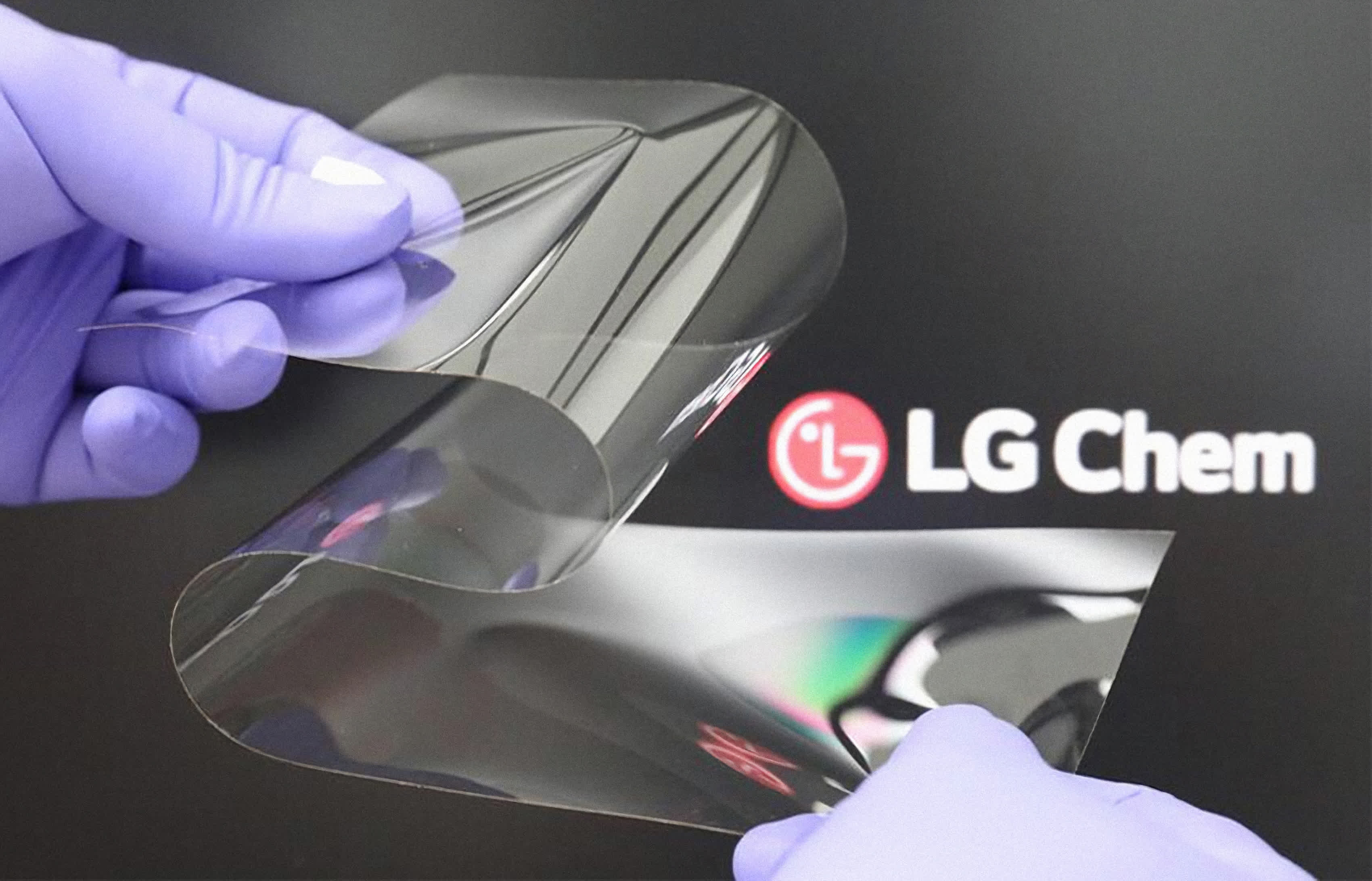 LG's new foldable display tech reduces creases but is as hard as tempered glass