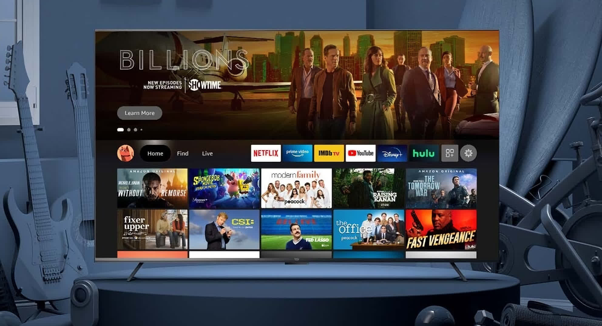 Amazon announces its first branded TV sets, the Omni Series and the 4-Series