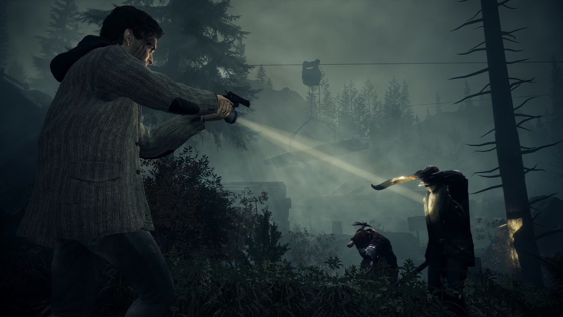 Here's what Alan Wake Remastered looks like in 4K on the PlayStation 5