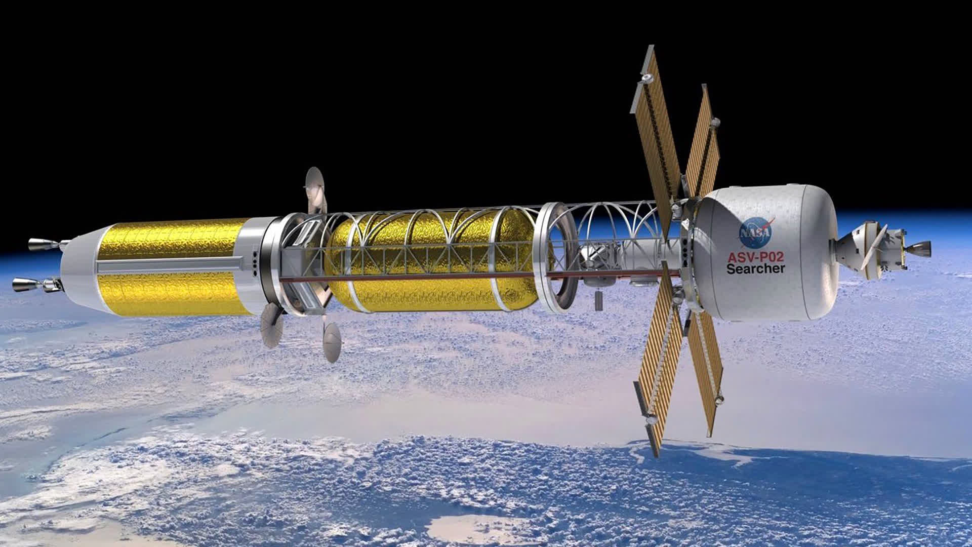 Department of Defense interested in nuclear propulsion system for small spacecraft