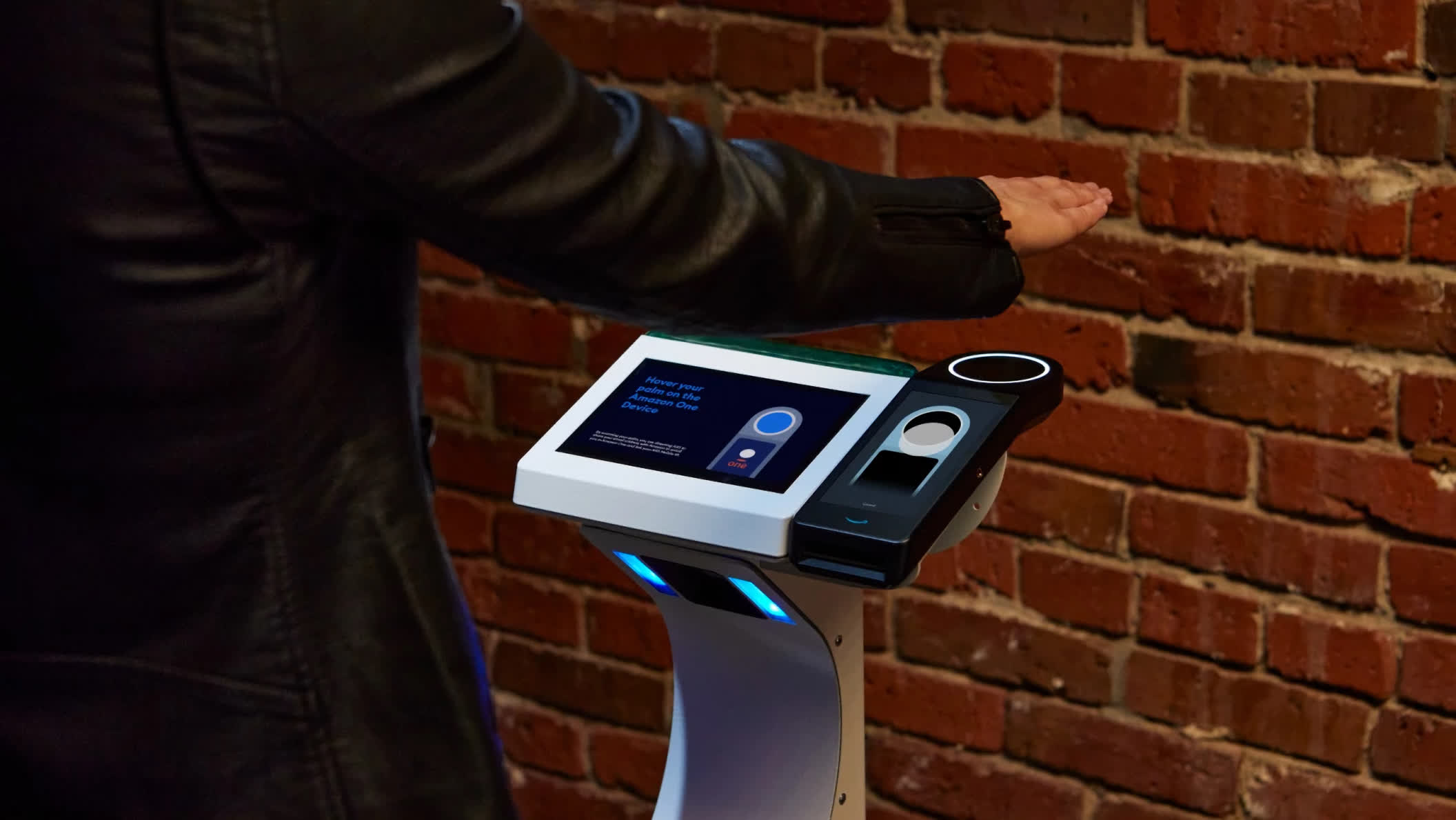 Amazon One palm scanning technology is now being used as admission in events