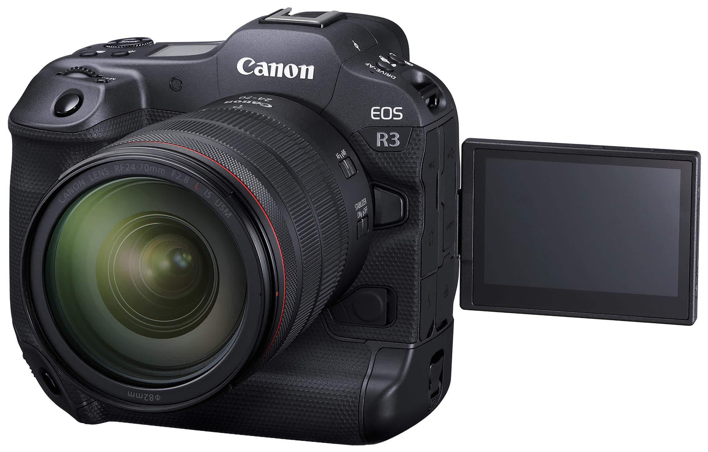 Canon's $6,000 EOS R3 can focus on a subject by tracking your eye movement
