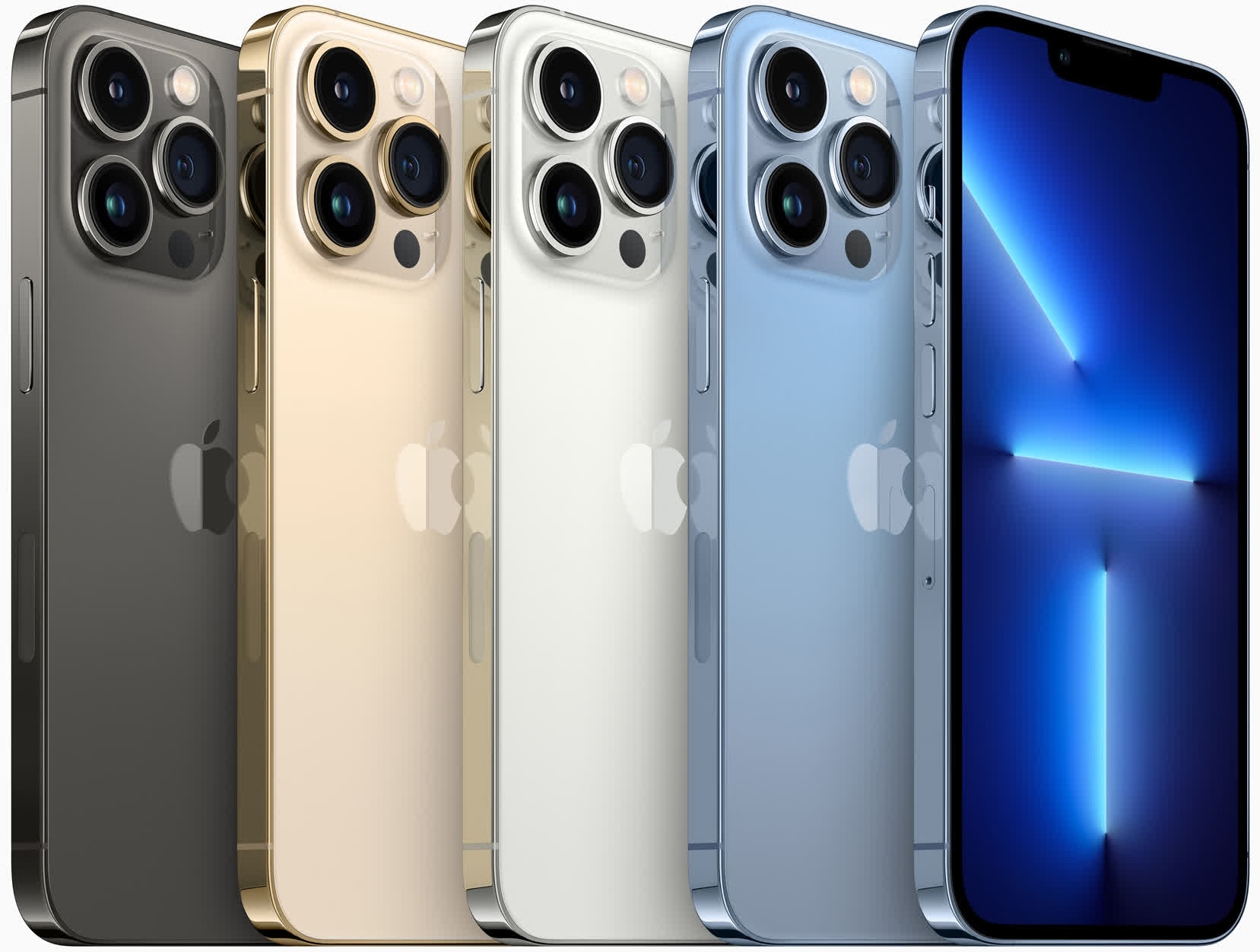 Apple introduces iPhone 13 Pro models featuring an improved camera system, 120Hz displays and better battery life
