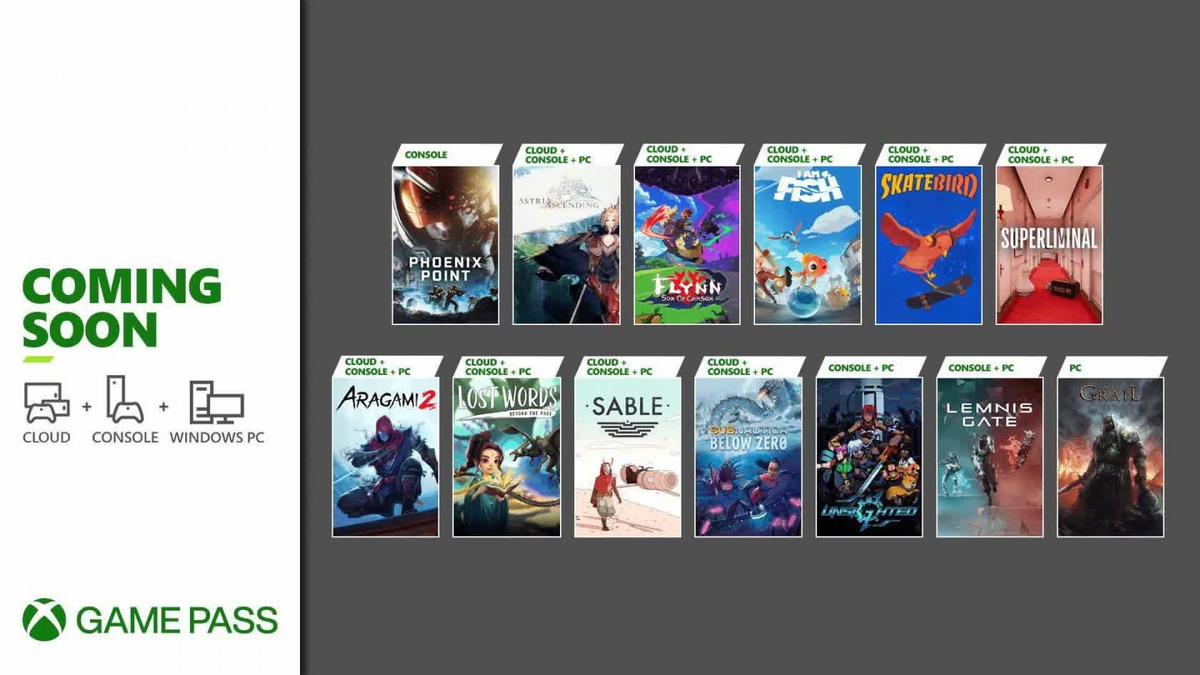 Microsoft's Xbox Game Pass is getting 12 new titles this month