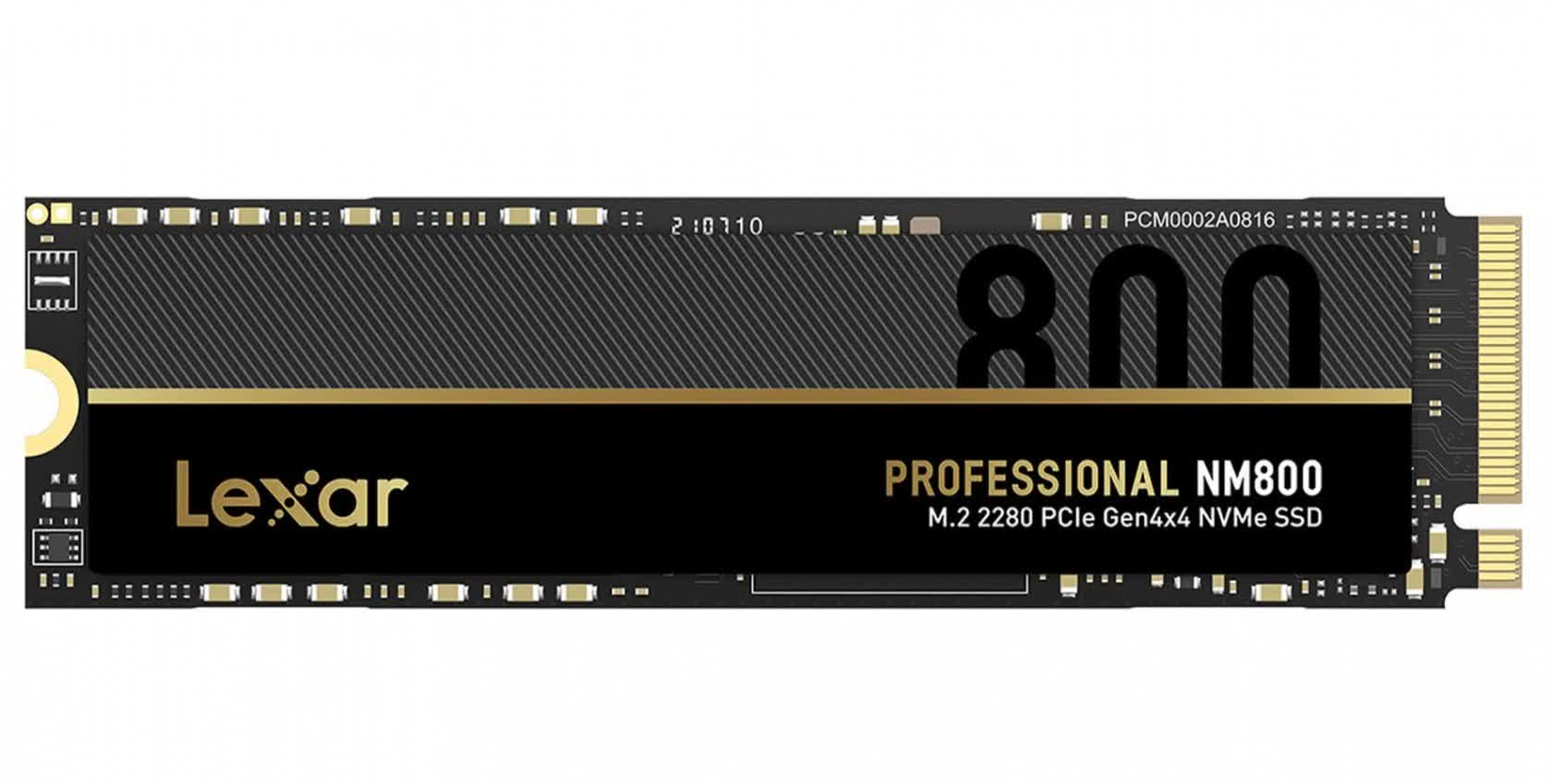 Lexar's pro-level SSD offers reads up to 7400 MB/s, uses graphene heat spreader
