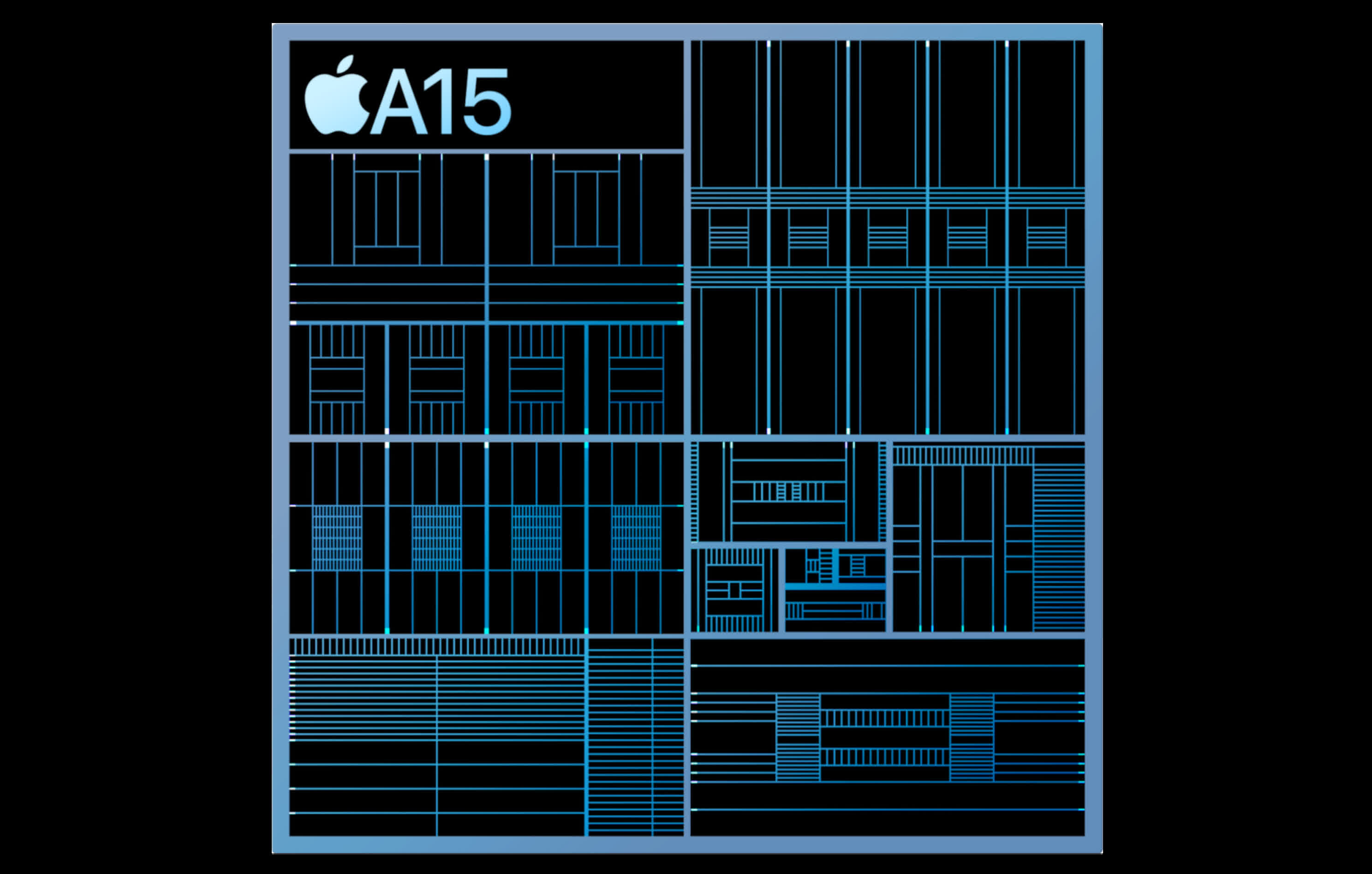 Apple's A15 Bionic is faster against the competition, less so against its predecessor