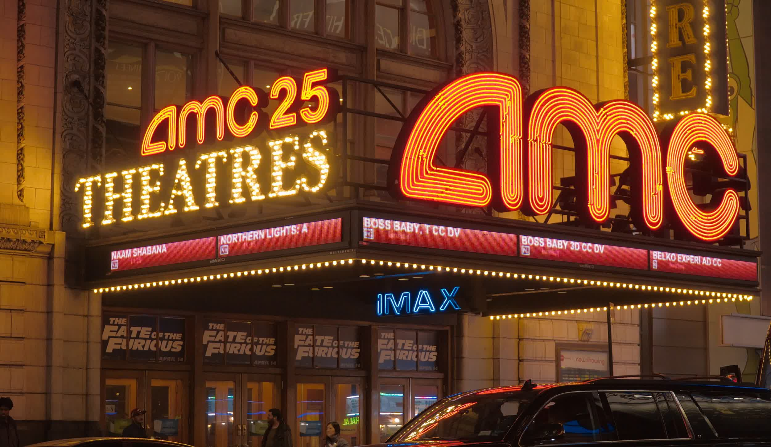AMC theaters will accept cryptocurrencies other than Bitcoin