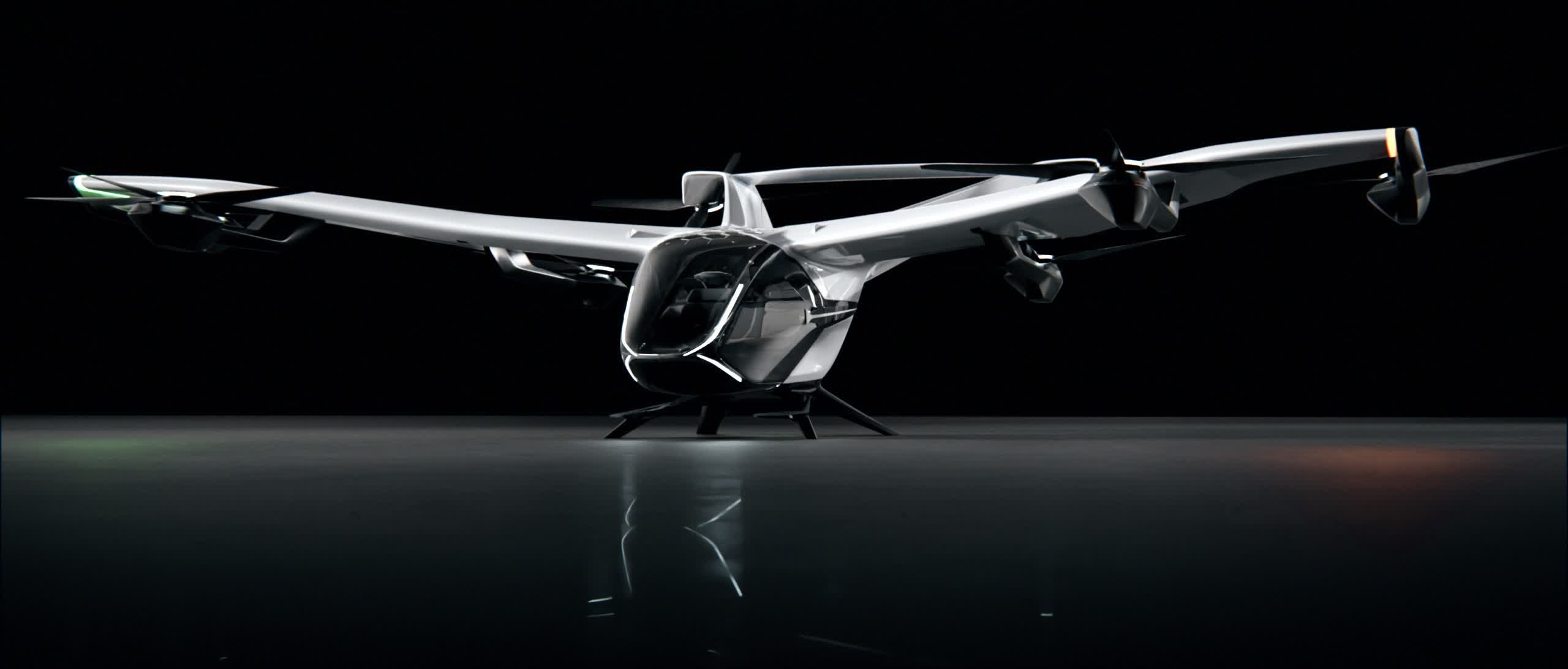 Airbus unveils the next generation of its flying taxi