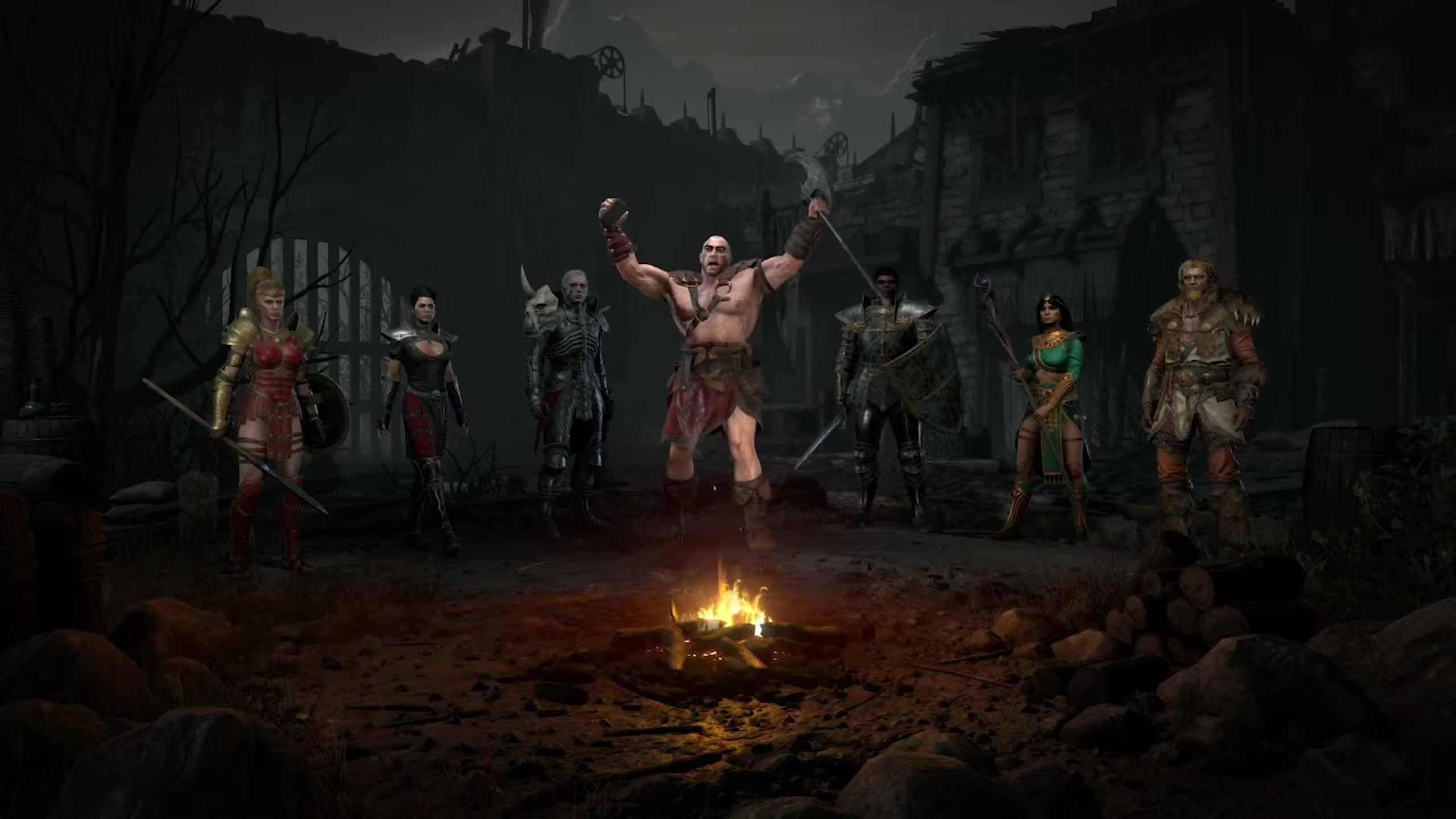 Diablo II: Resurrected online play was down for several hours after launch