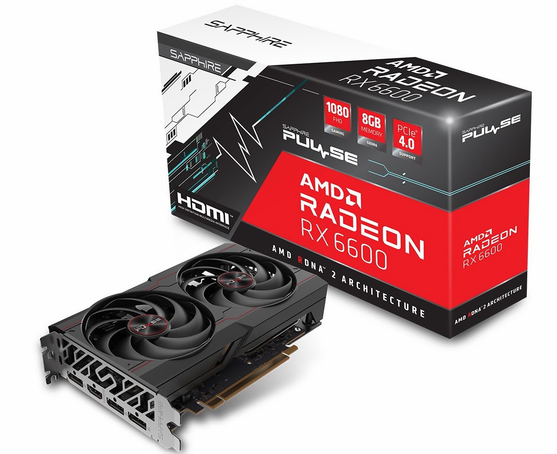 AMD's budget-oriented Radeon RX 6600 could launch as soon as next month