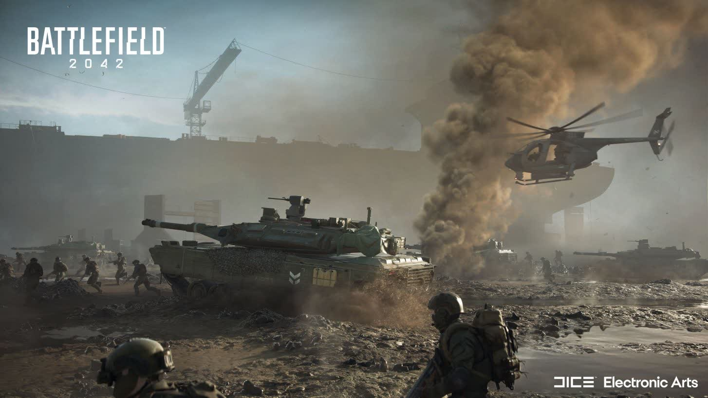 Battlefield 2042 open beta starts October 6 for select users