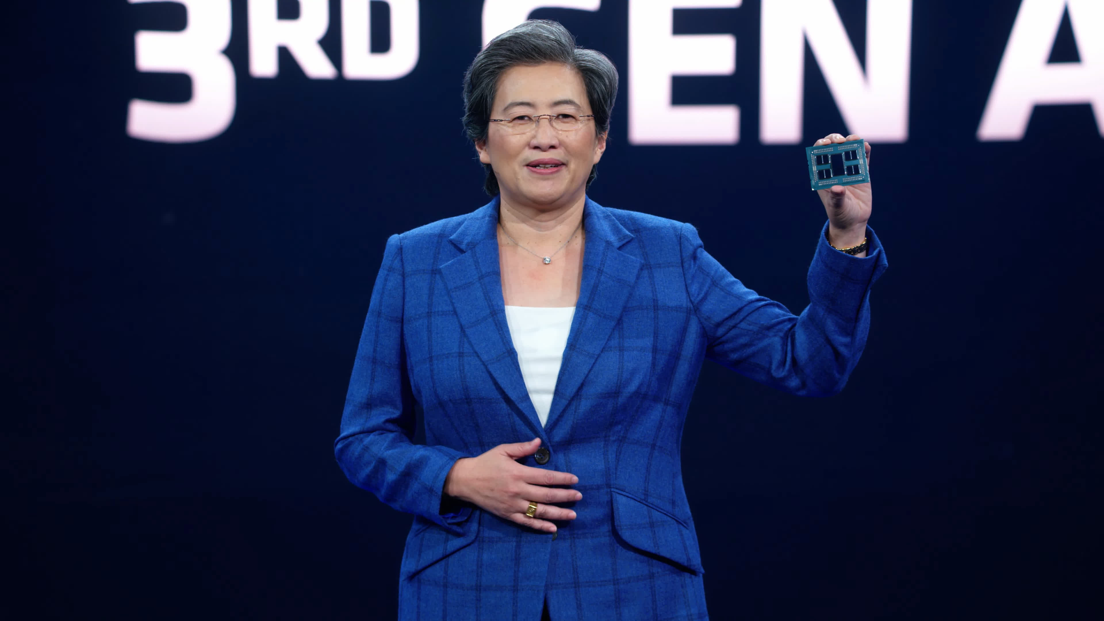 AMD wants to make its chips 30 times more energy-efficient by 2025