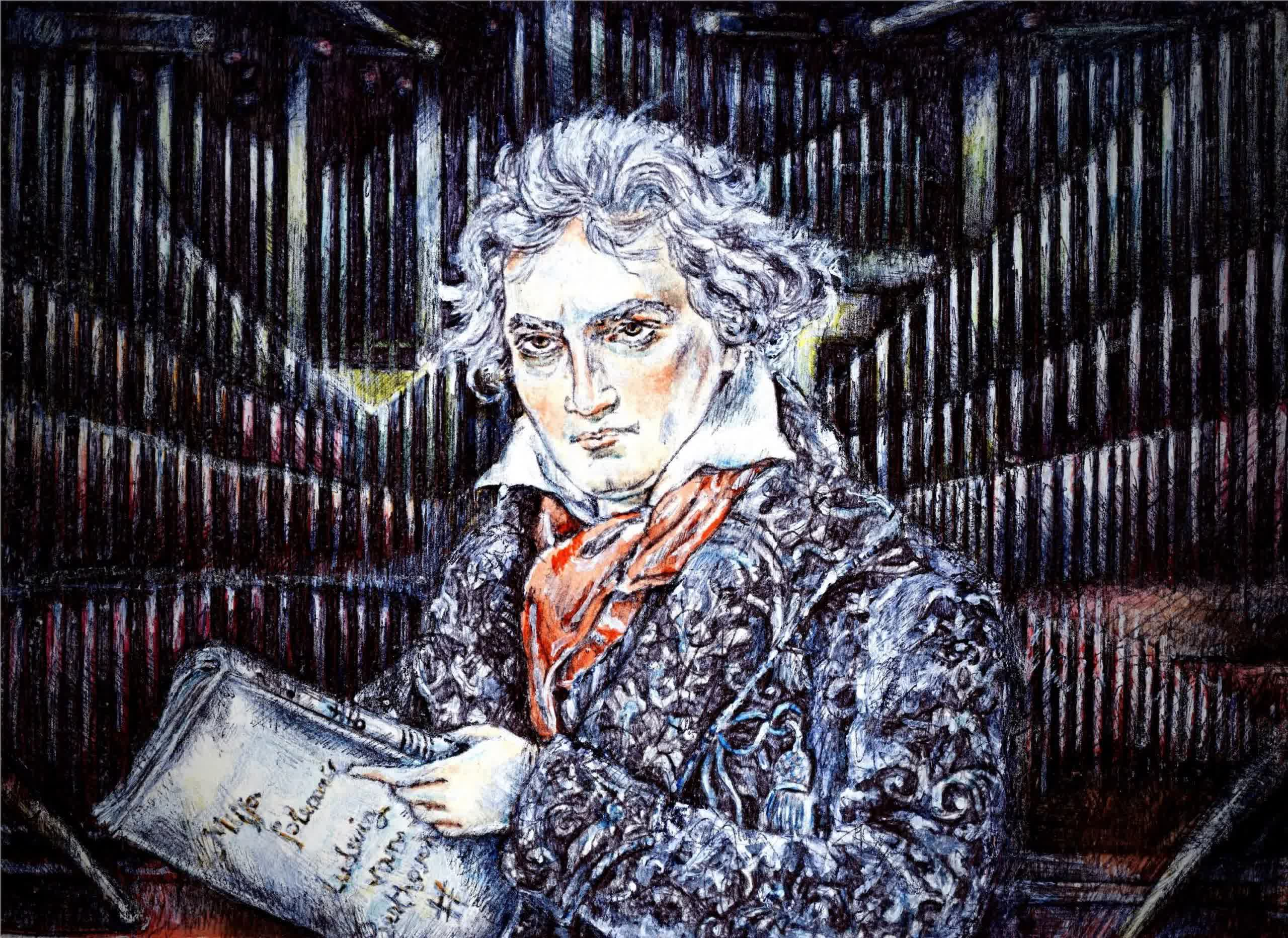Music scholars and computer scientists completed Beethoven's Tenth Symphony aided by machine learning