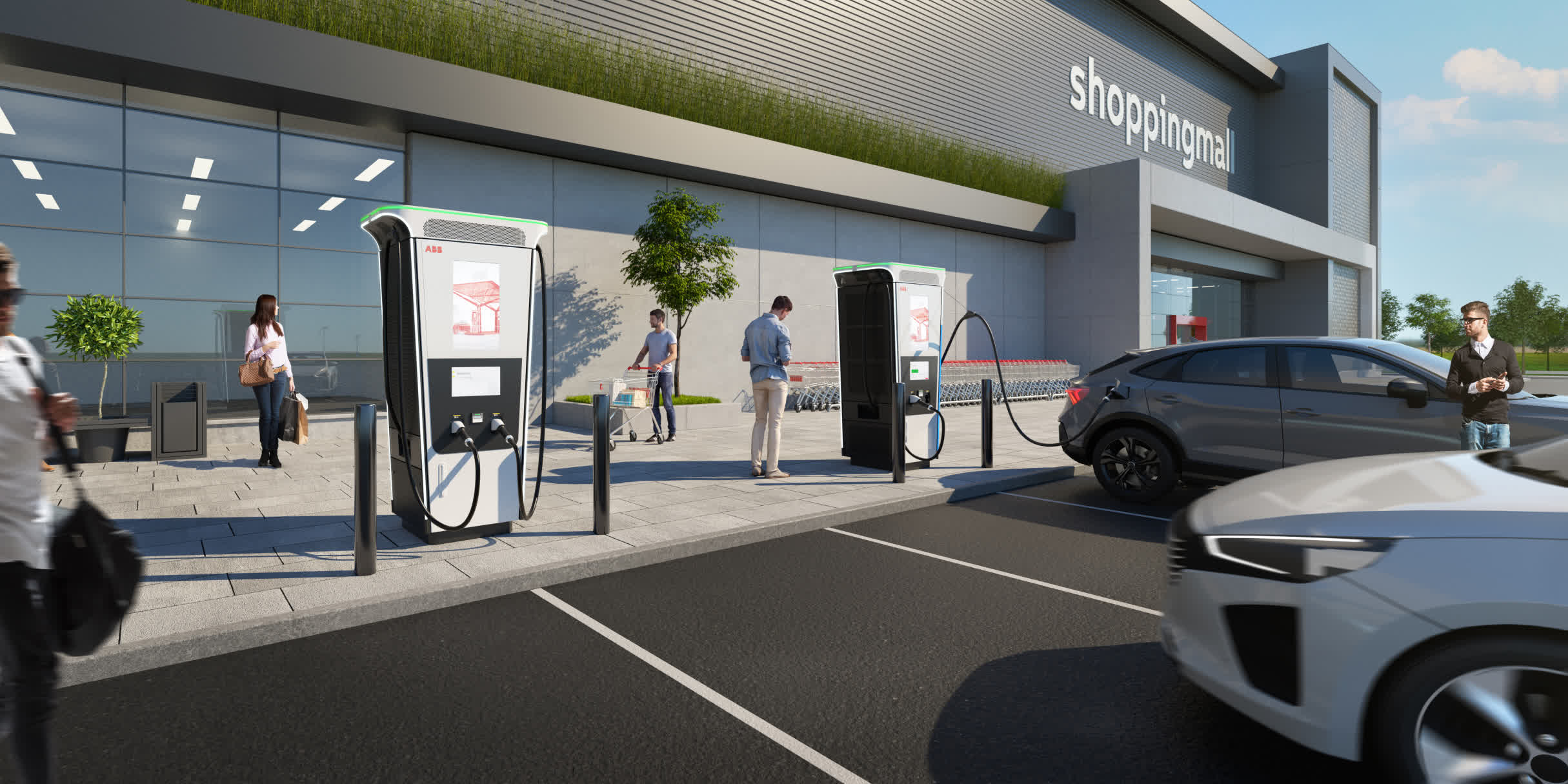 ABB's Terra 360 can charge your EV in under 15 minutes