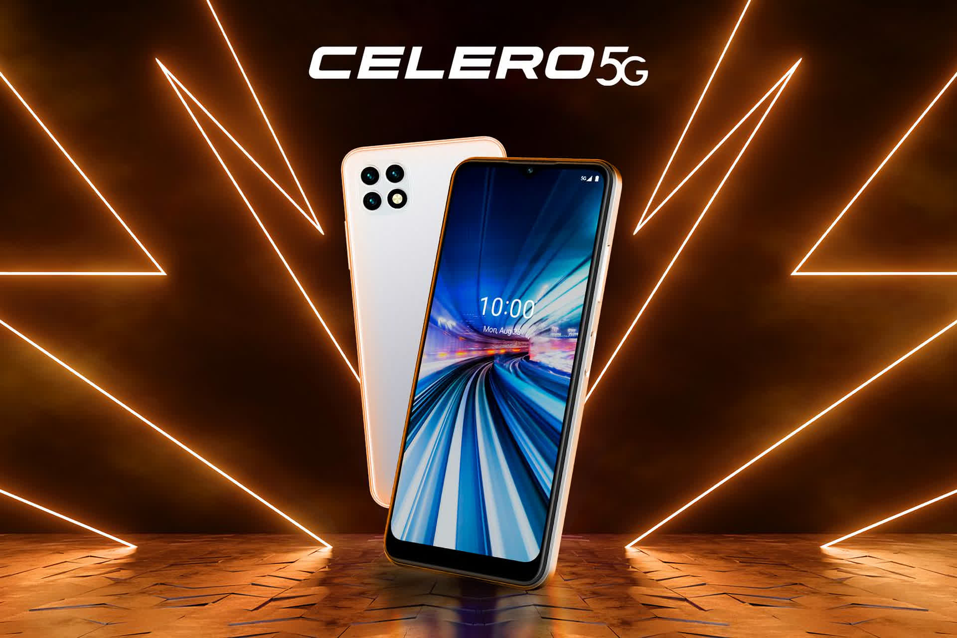 Dish's first smartphone is the mid-range Celero5G for Boost Mobile