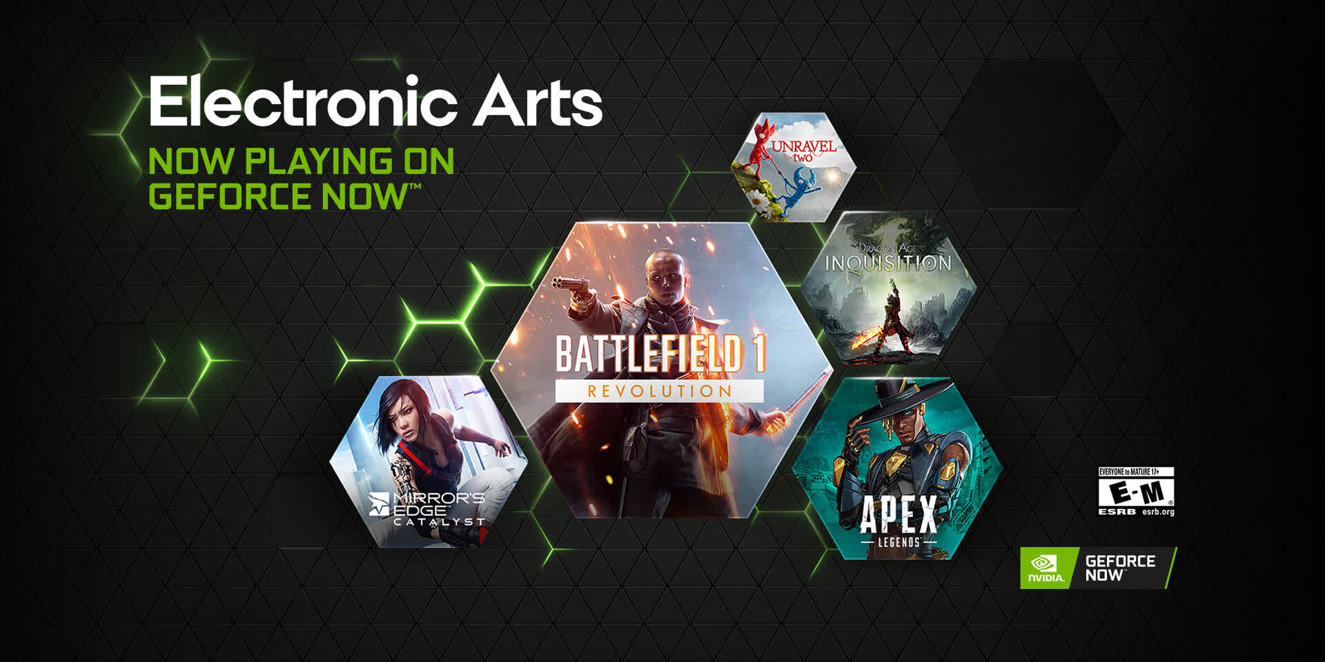 Nvidia GeForce Now game lineup is expanding with four Electronic Arts titles