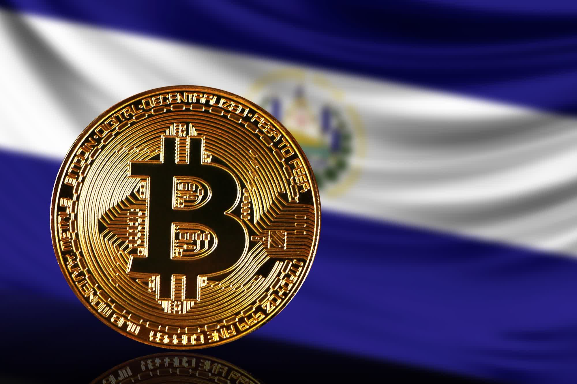 El Salvador's volcano-powered Bitcoin mining project produces its first currency