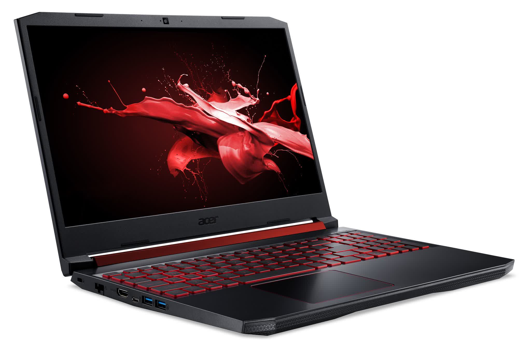 Acer's budget-friendly Nitro 5 gaming laptops are ready for Windows 11