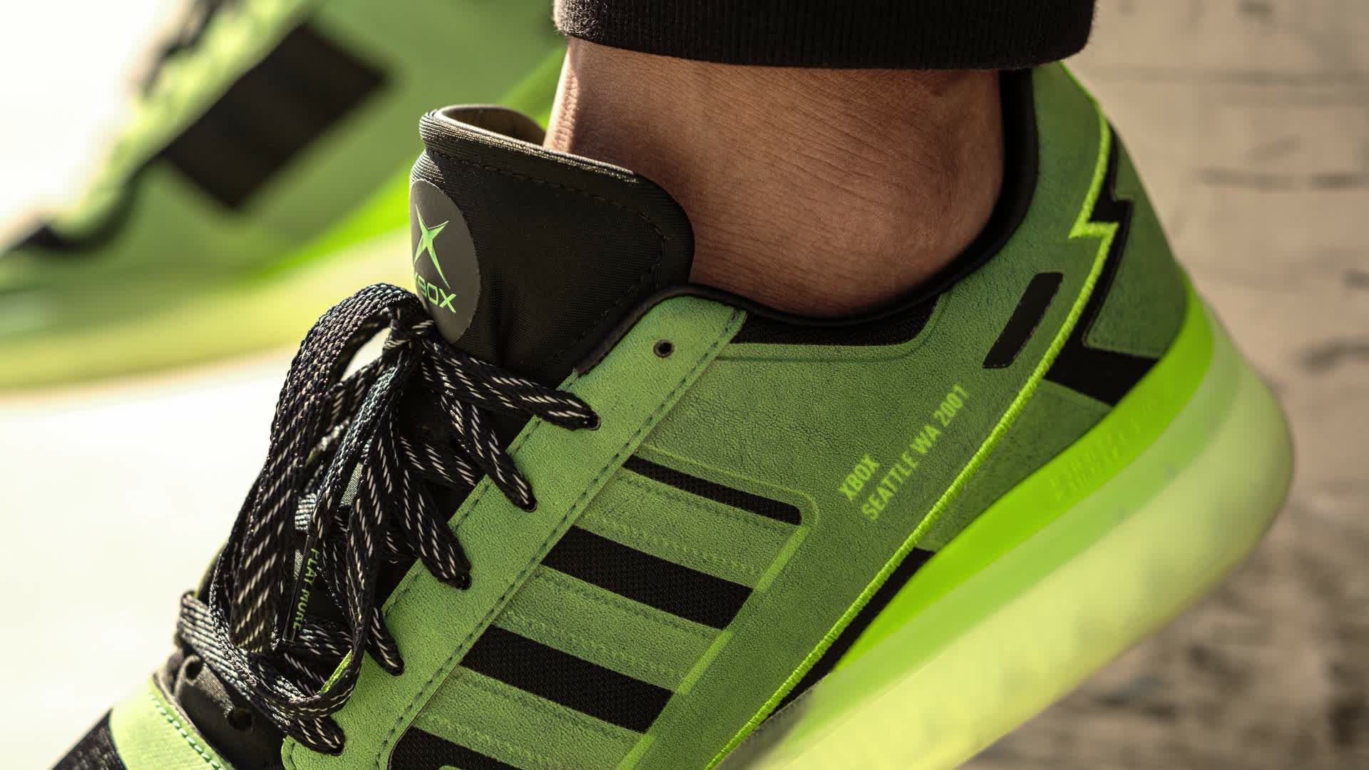 Microsoft taps Adidas for 20th anniversary edition Xbox sneakers
