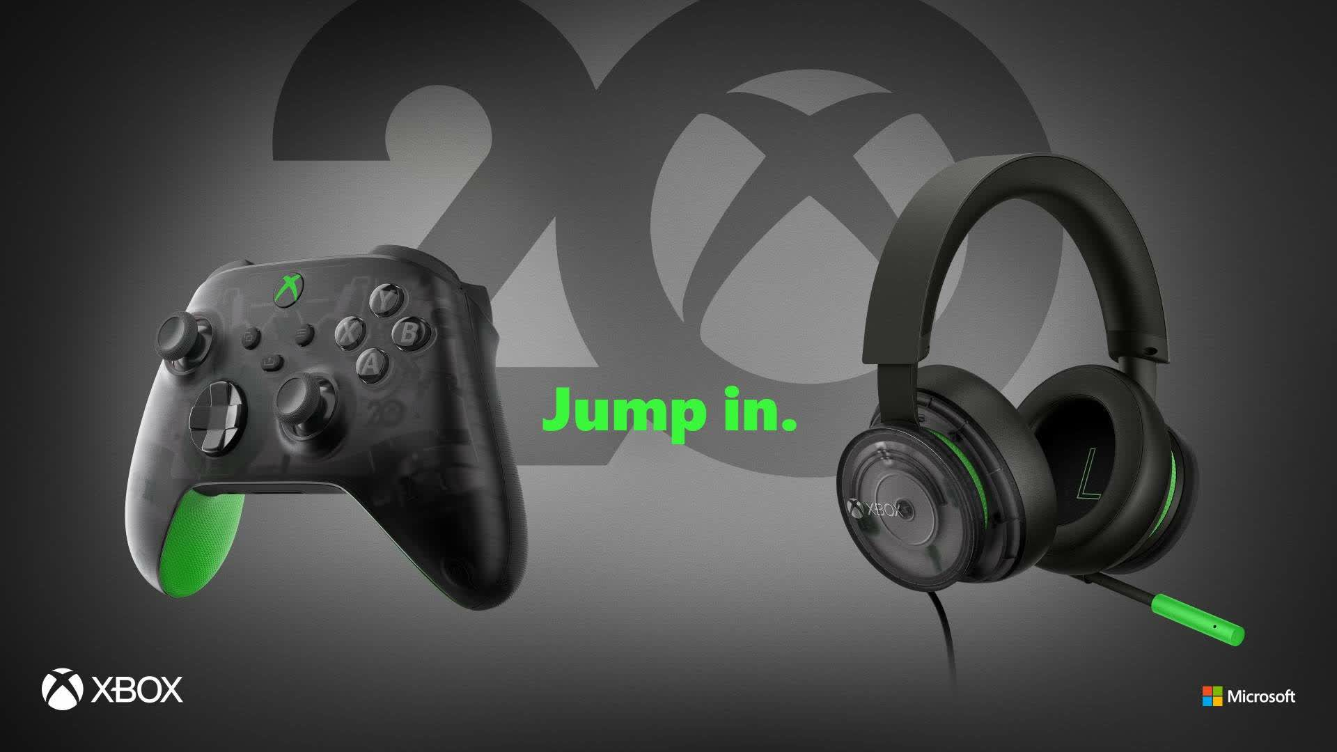 Xbox celebrates 20th anniversary with special edition hardware and merchandise