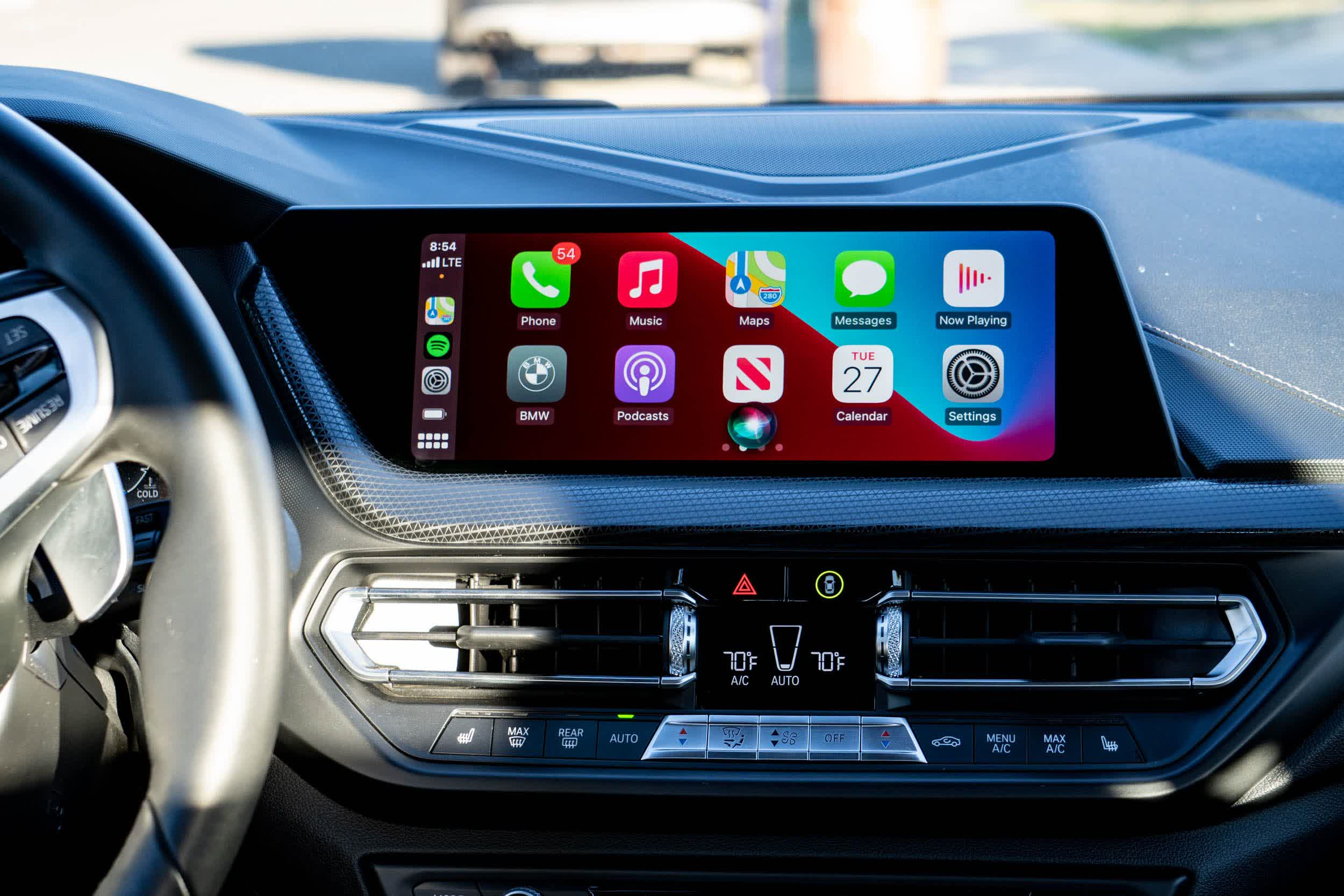 Apple wants to put vehicle climate controls, seat adjustments and instrument clusters on your iPhone