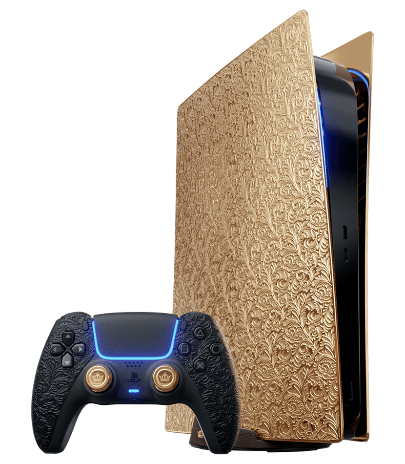 This company has a golden PlayStation 5 that can be yours for a little over $350,000