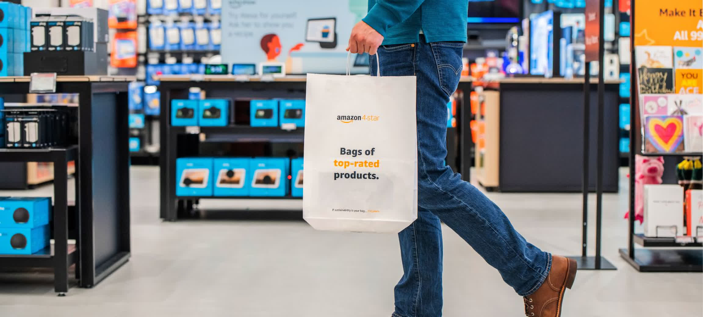 Amazon's first 4-star international store opens in the UK